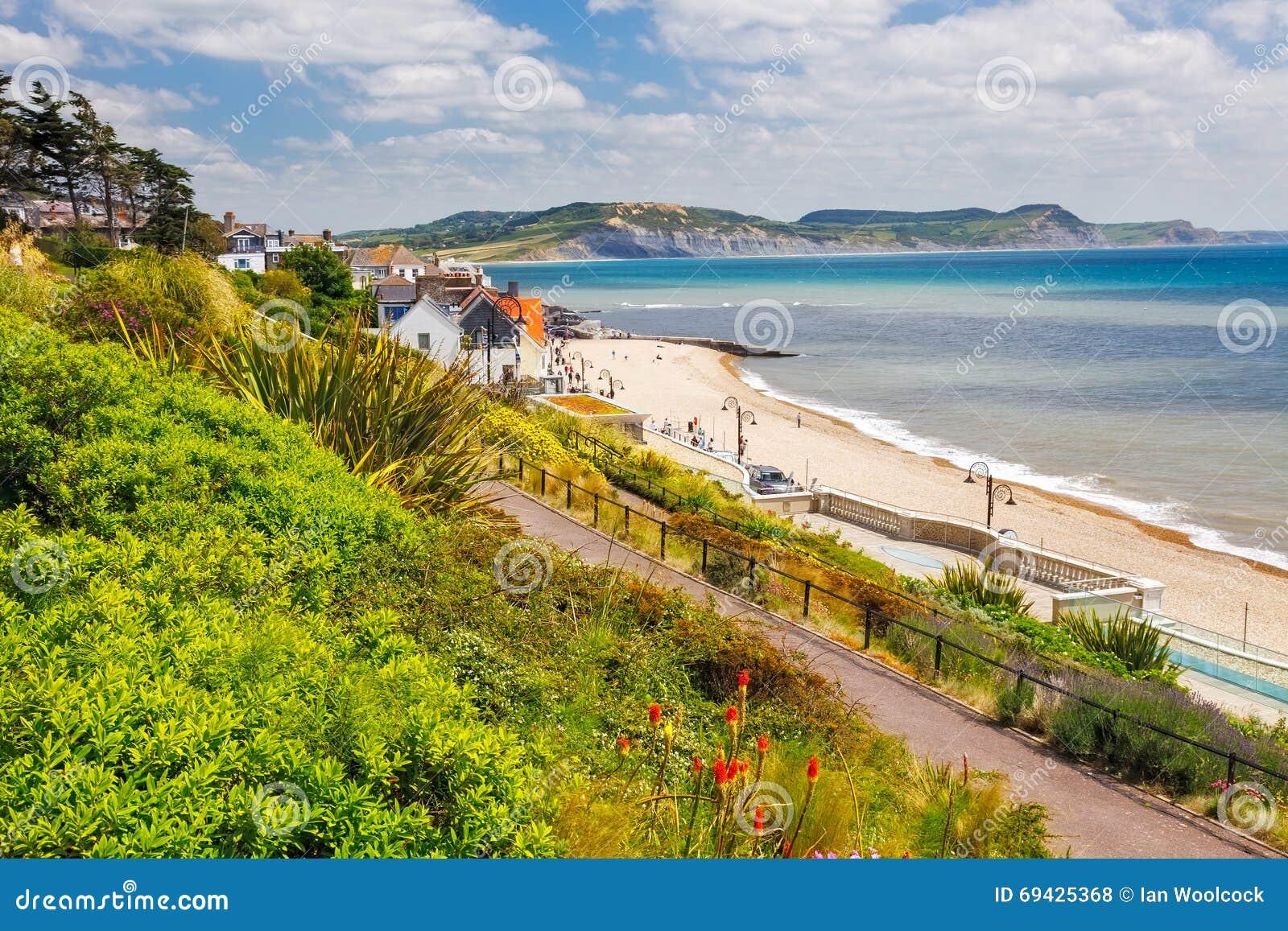 Langmoor och Listerträdgårdar Lyme Regis
