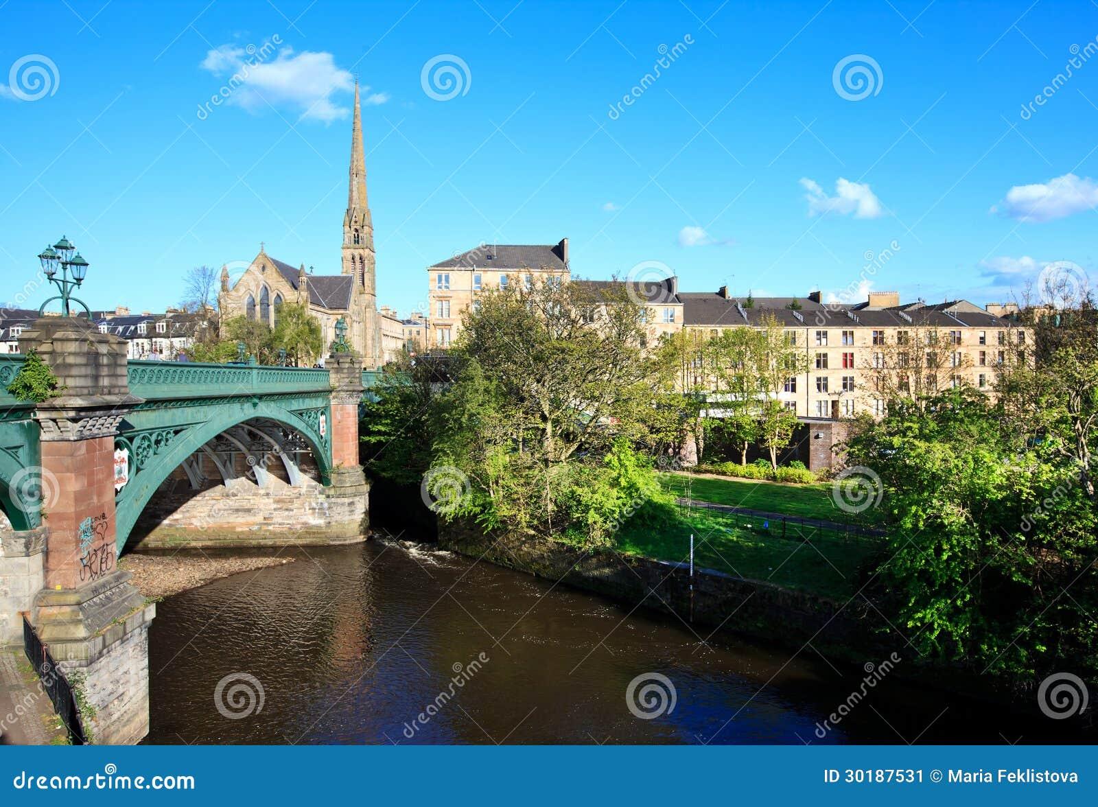 Cityscape van Glasgow