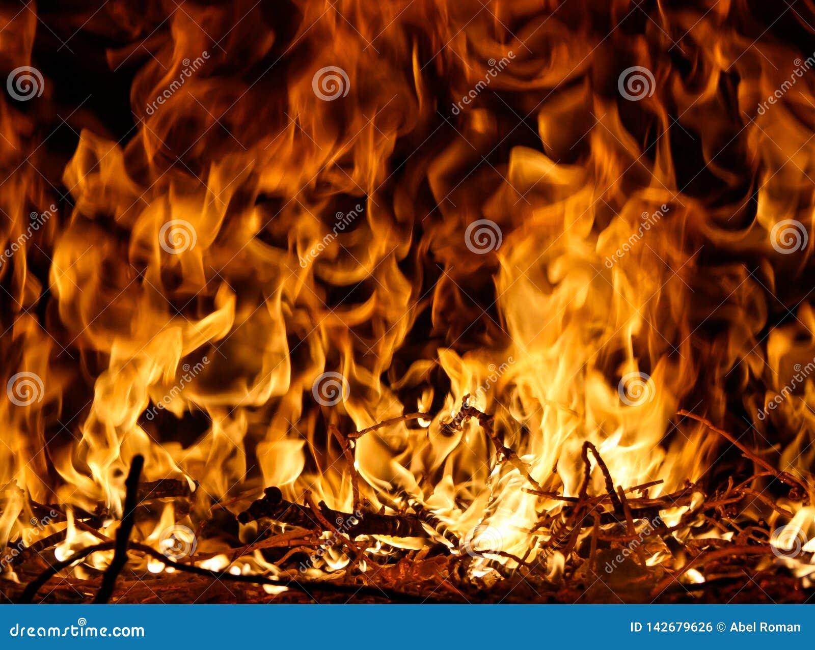 Langues d incendie