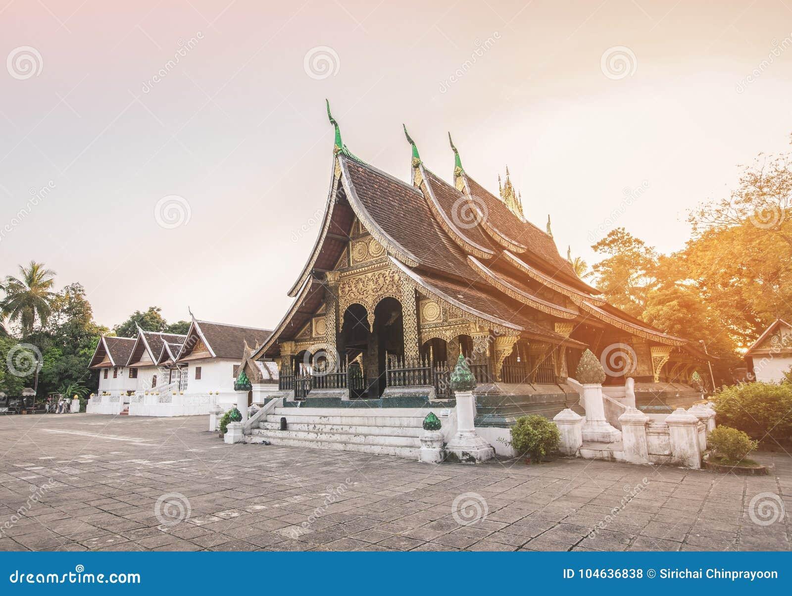 Lanière de Wat Xieng dans Luang Prabang