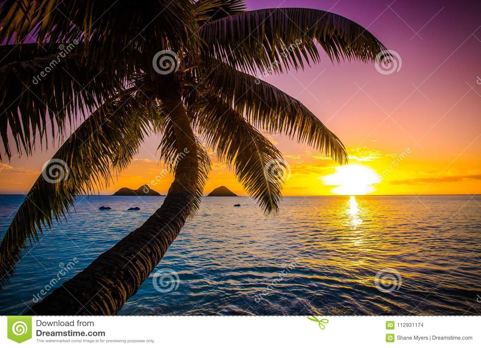 Lanikai Beach Sunrise