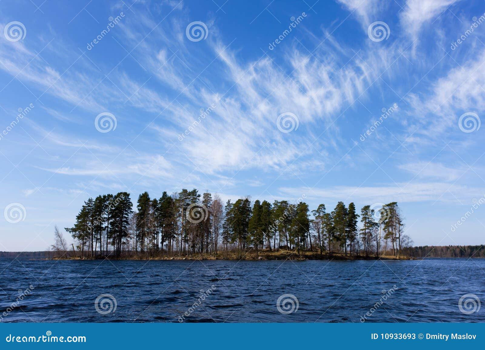 Lanscape озера
