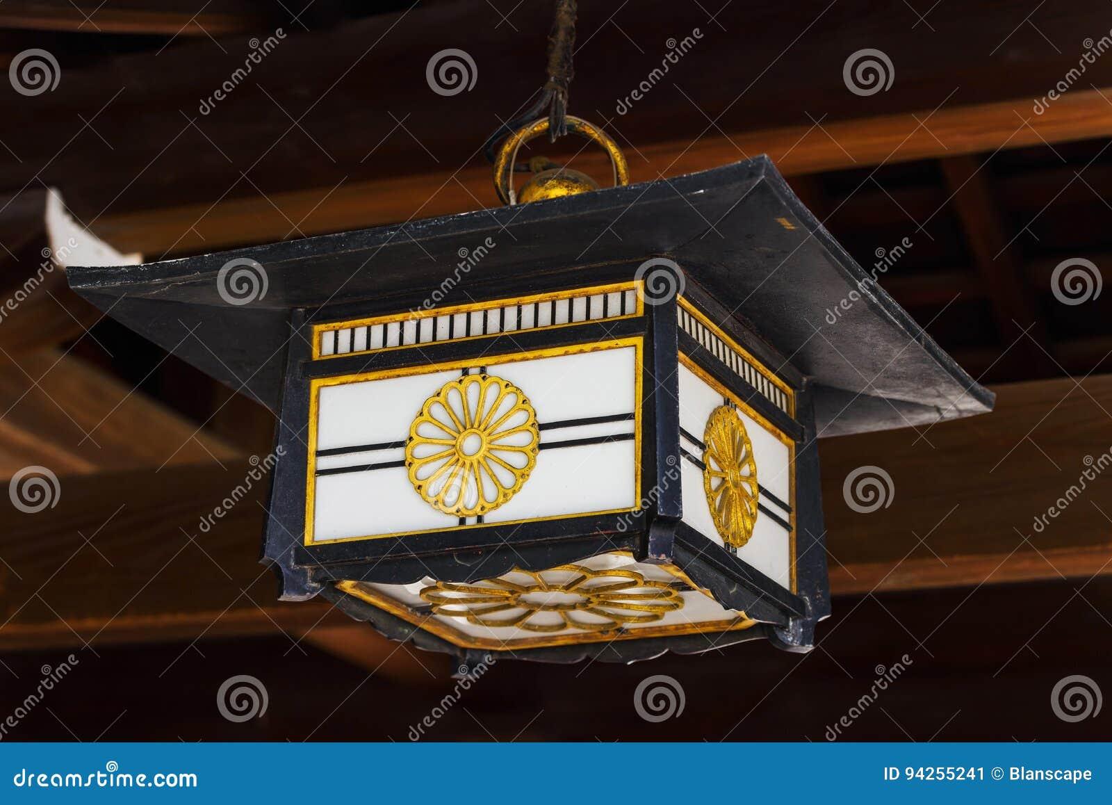 Lantaarn in Meiji Shrine, Tokyo