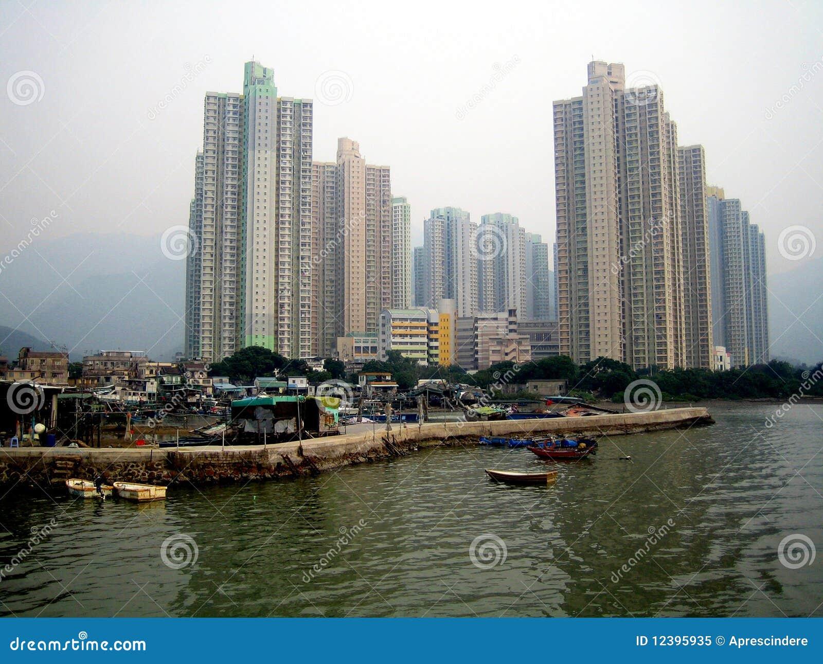 Lantau νησιών της Hong kong