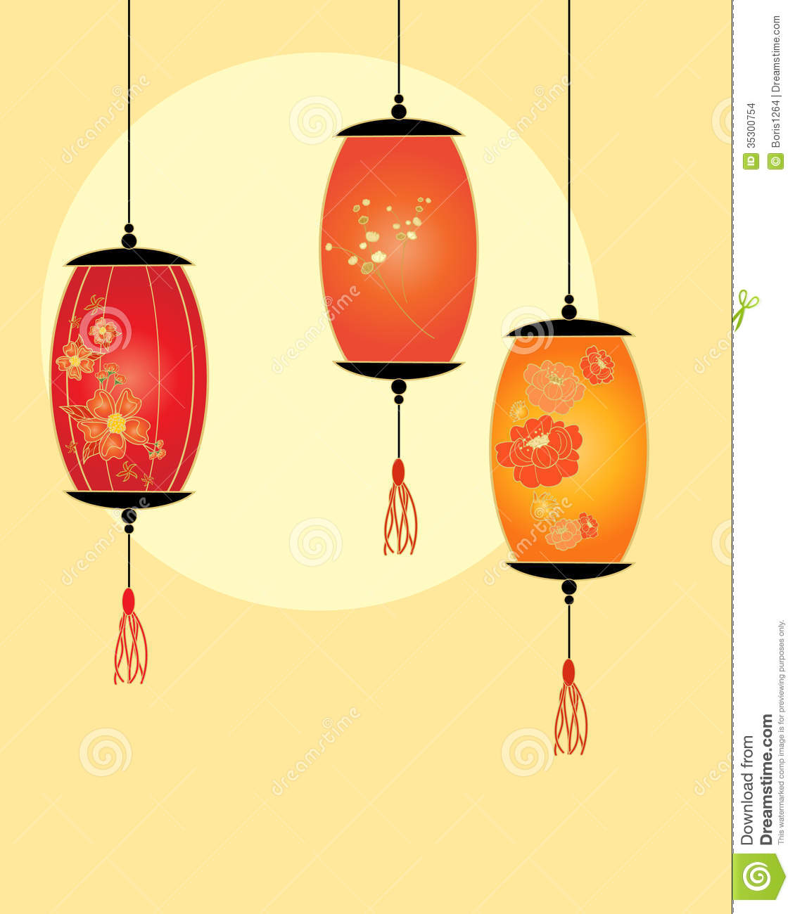 Lantern design stock vector. Illustration of oriental ...