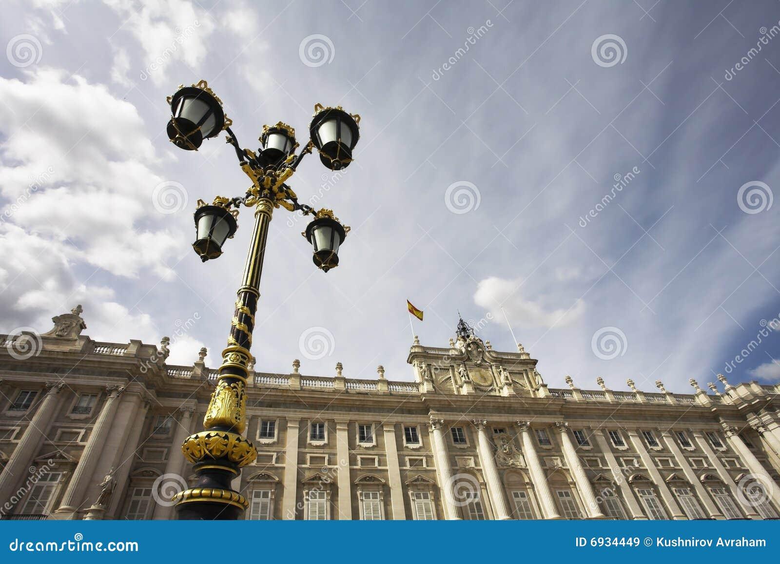 Lanterna Charming nello stile di un baroque