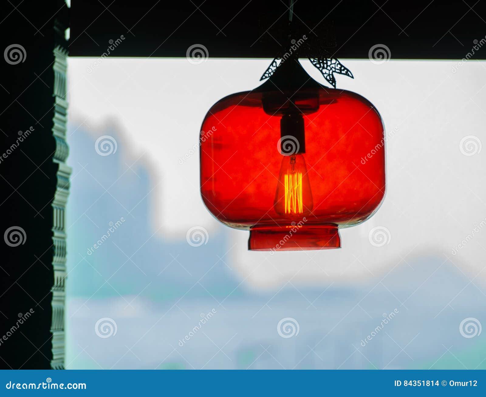 Decorazioni Con Lanterne Cinesi : Lanterna cinese con una decorazione moderna dell interno della