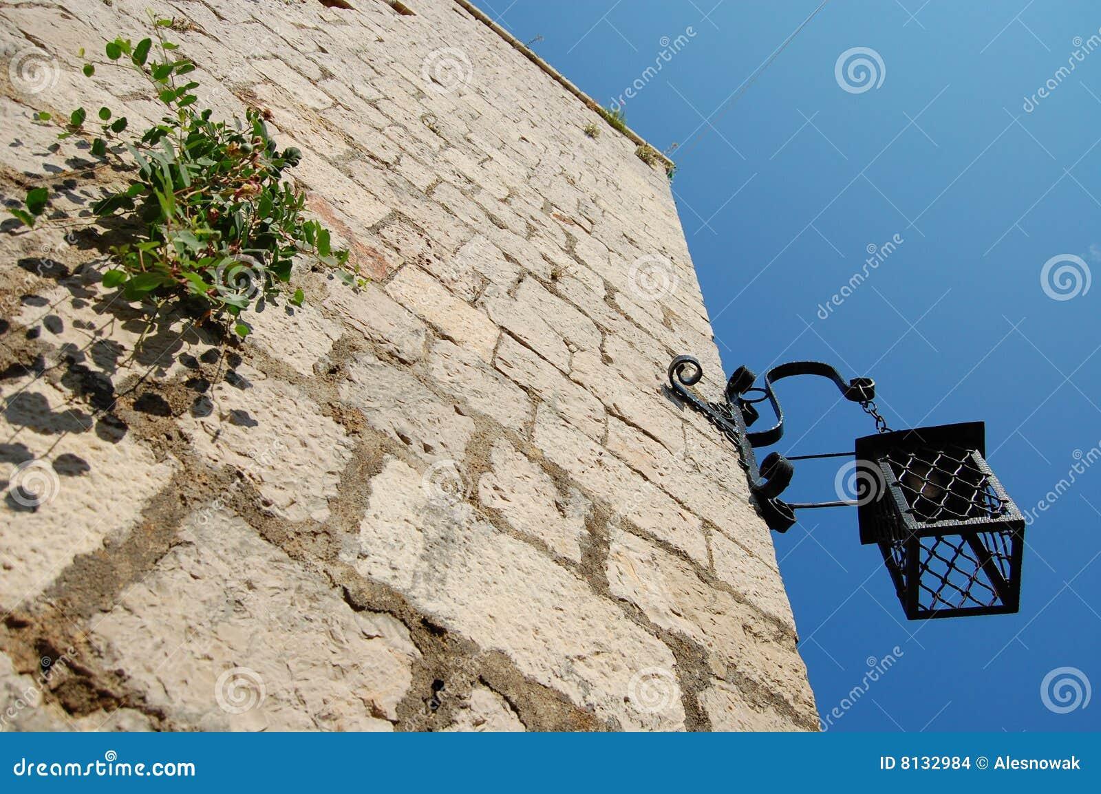 Lanterna da fortaleza de Hvar