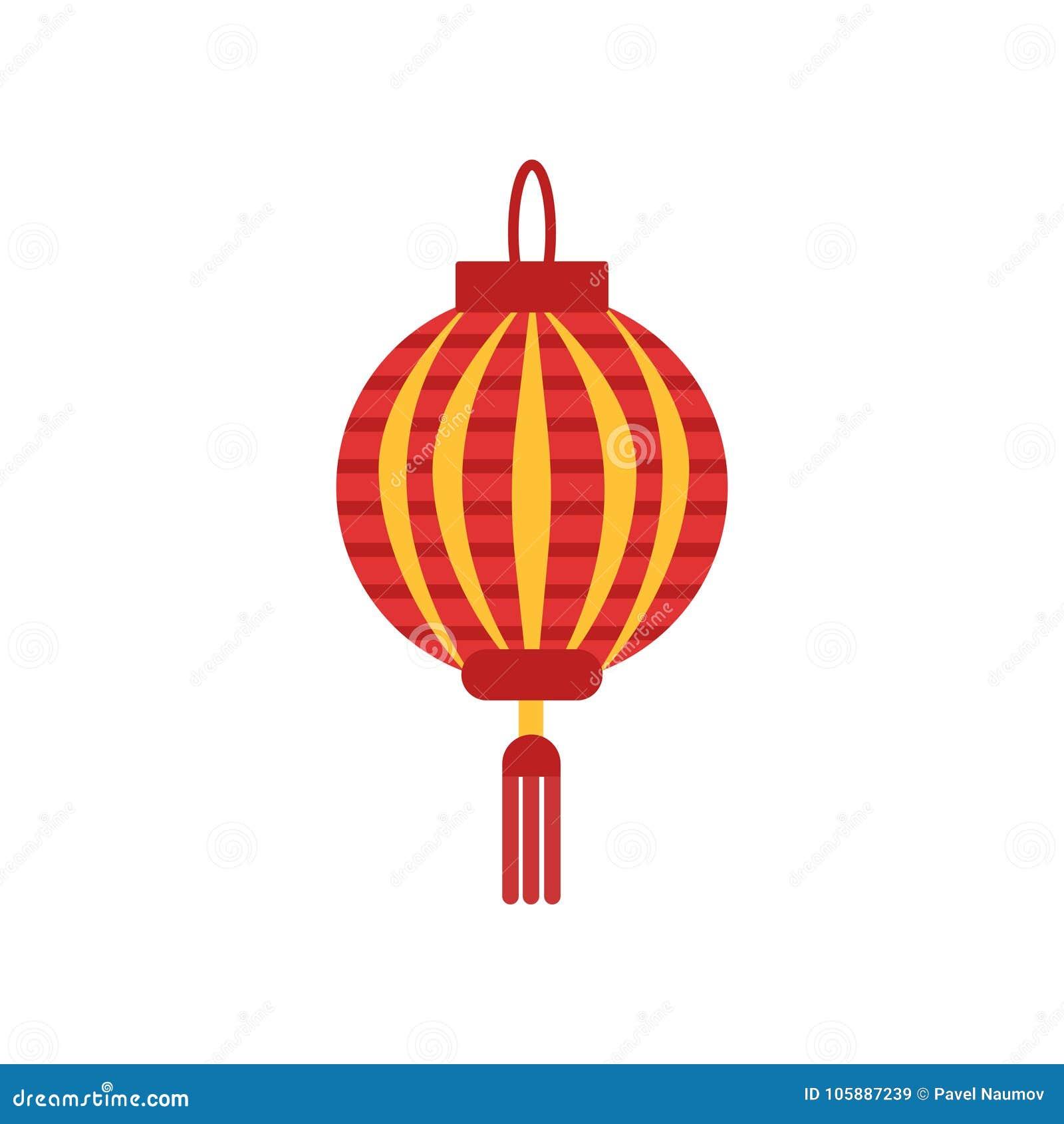 Lampadario Carta Cinese.Lanterna Di Carta Del Cinese Tradizionale Con Poca Nappa