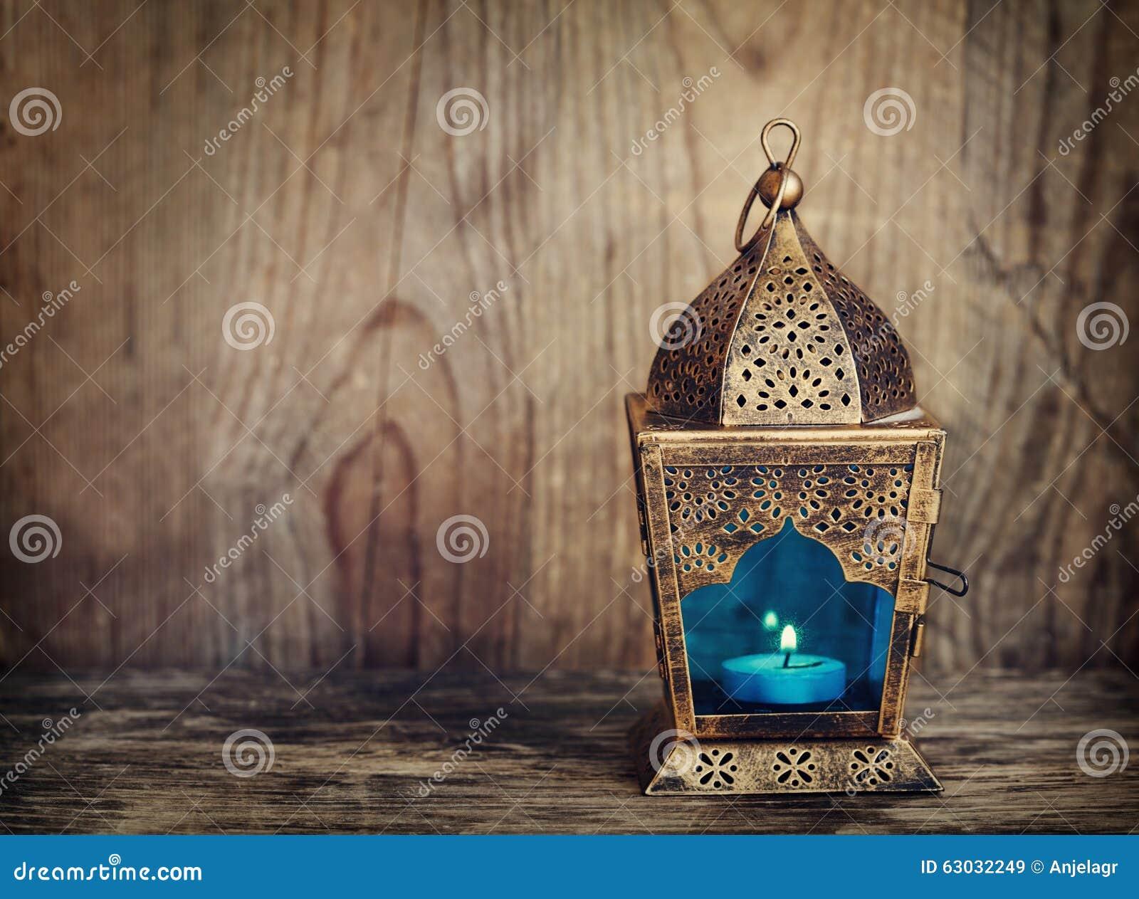 Lanterna do árabe do ouro