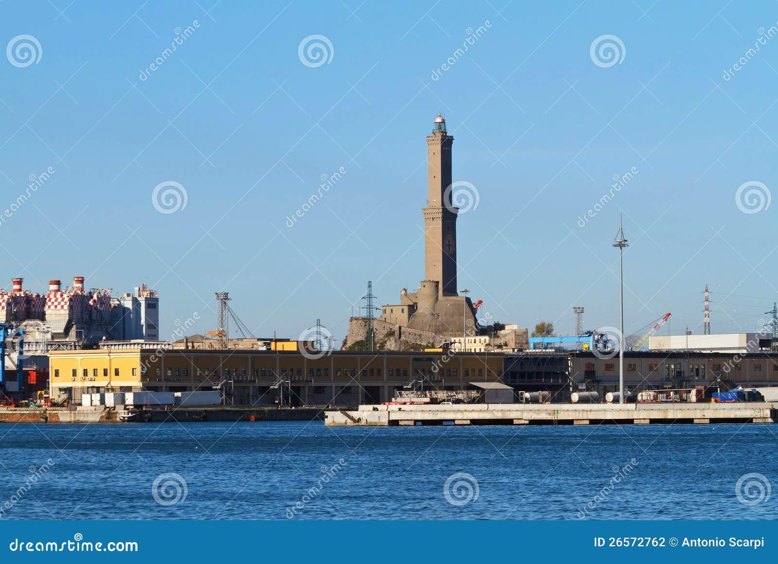 Lanterna - faro a Genova,
