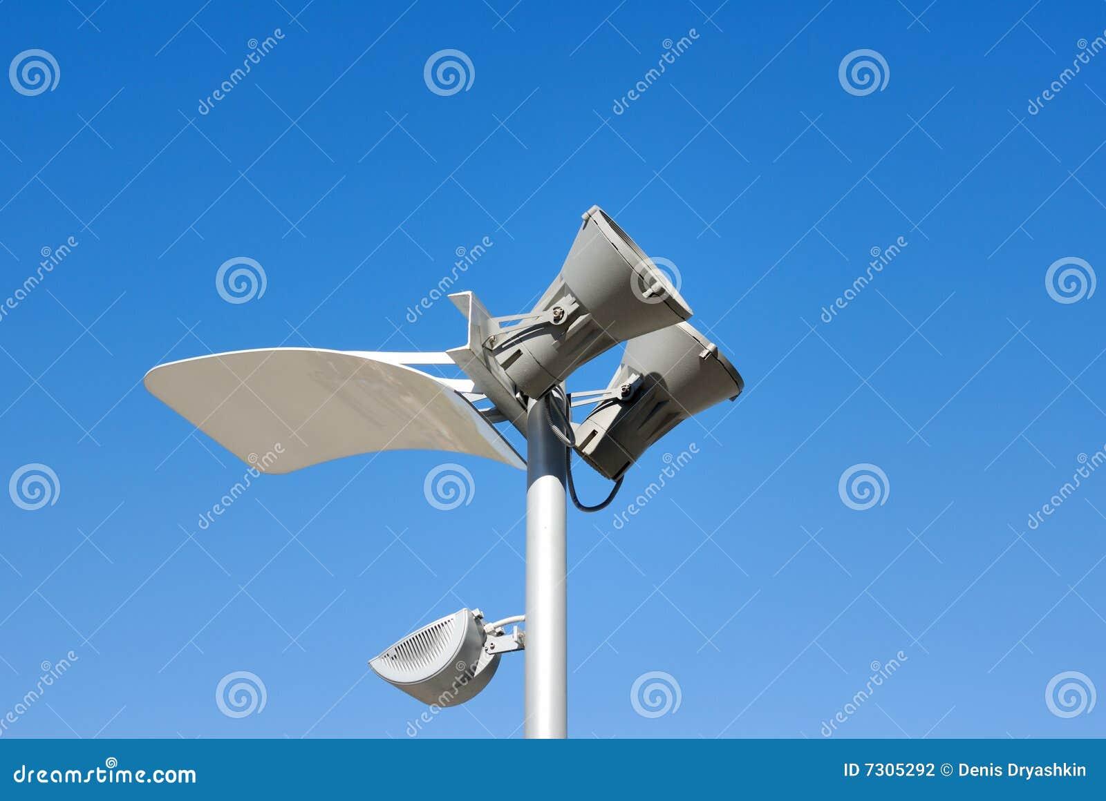 Lanterna moderna di illuminazione della via