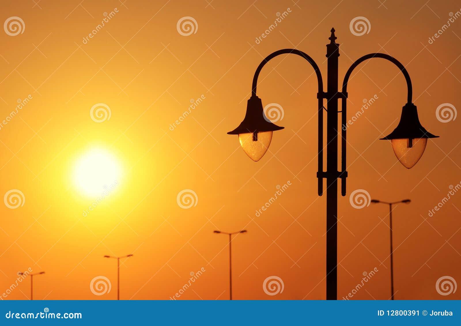 Lanterna no sundow