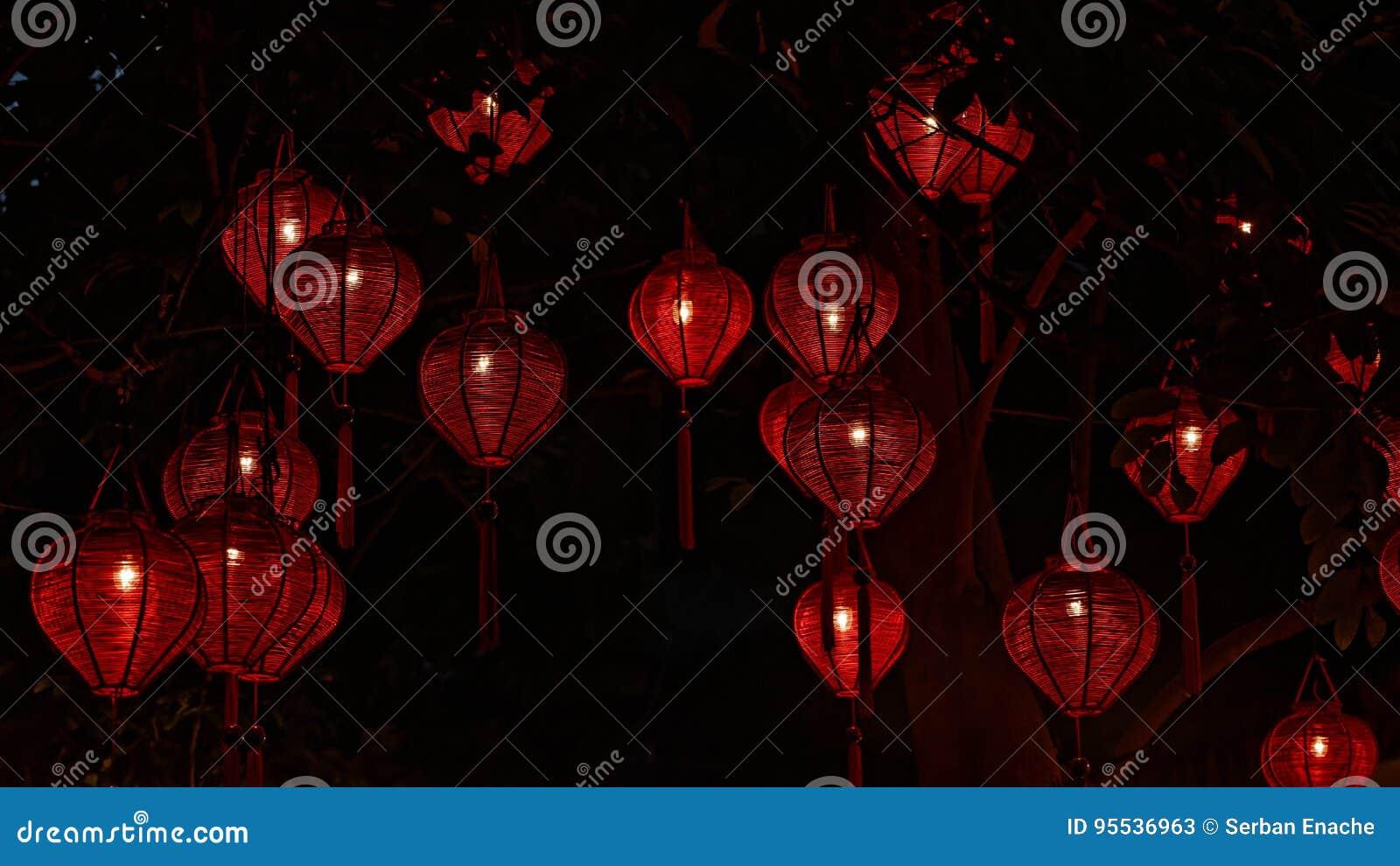 Lanternas tradicionais em Hoi An