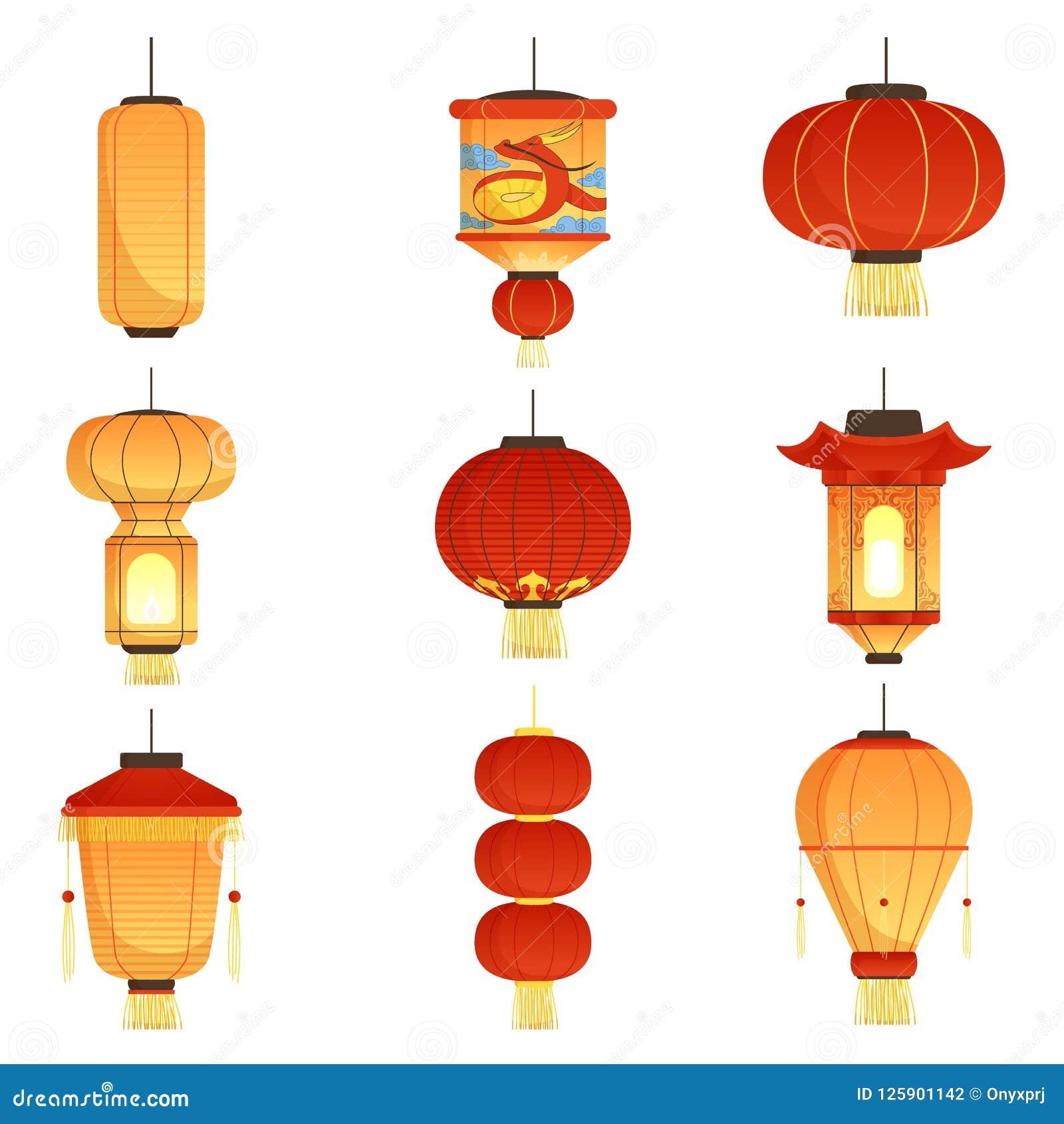 Lampade Cinesi Di Carta.Lanterne Cinesi Di Festival Le Lanterne Di Carta Di Nozze Di