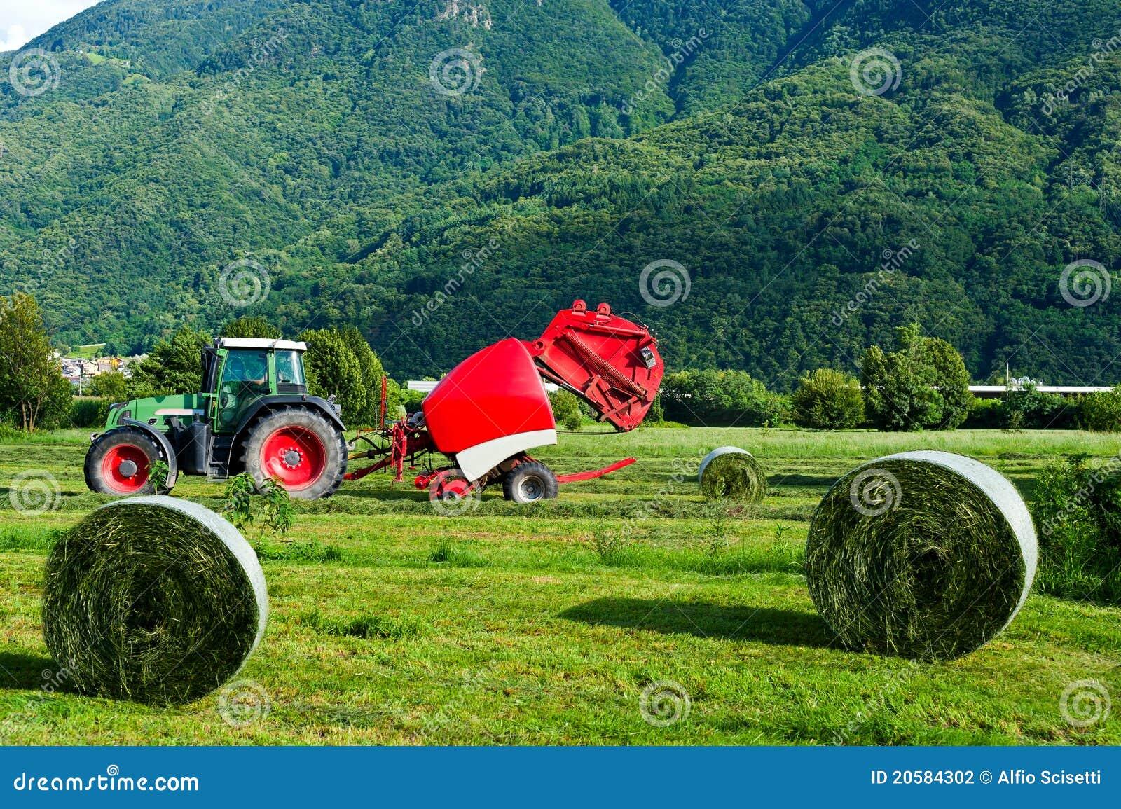 Lantgårdarbete