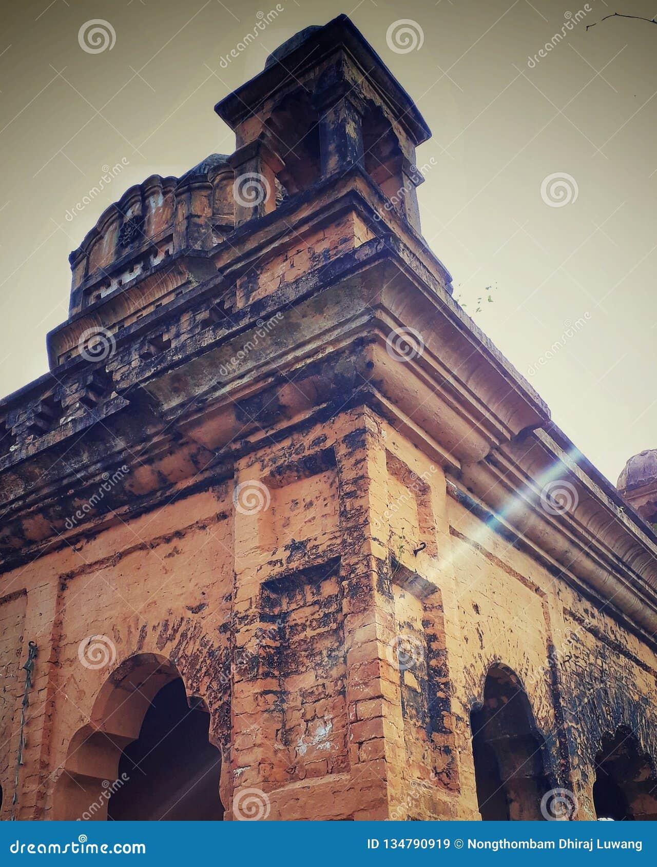Lanthabal pałac, Manipur