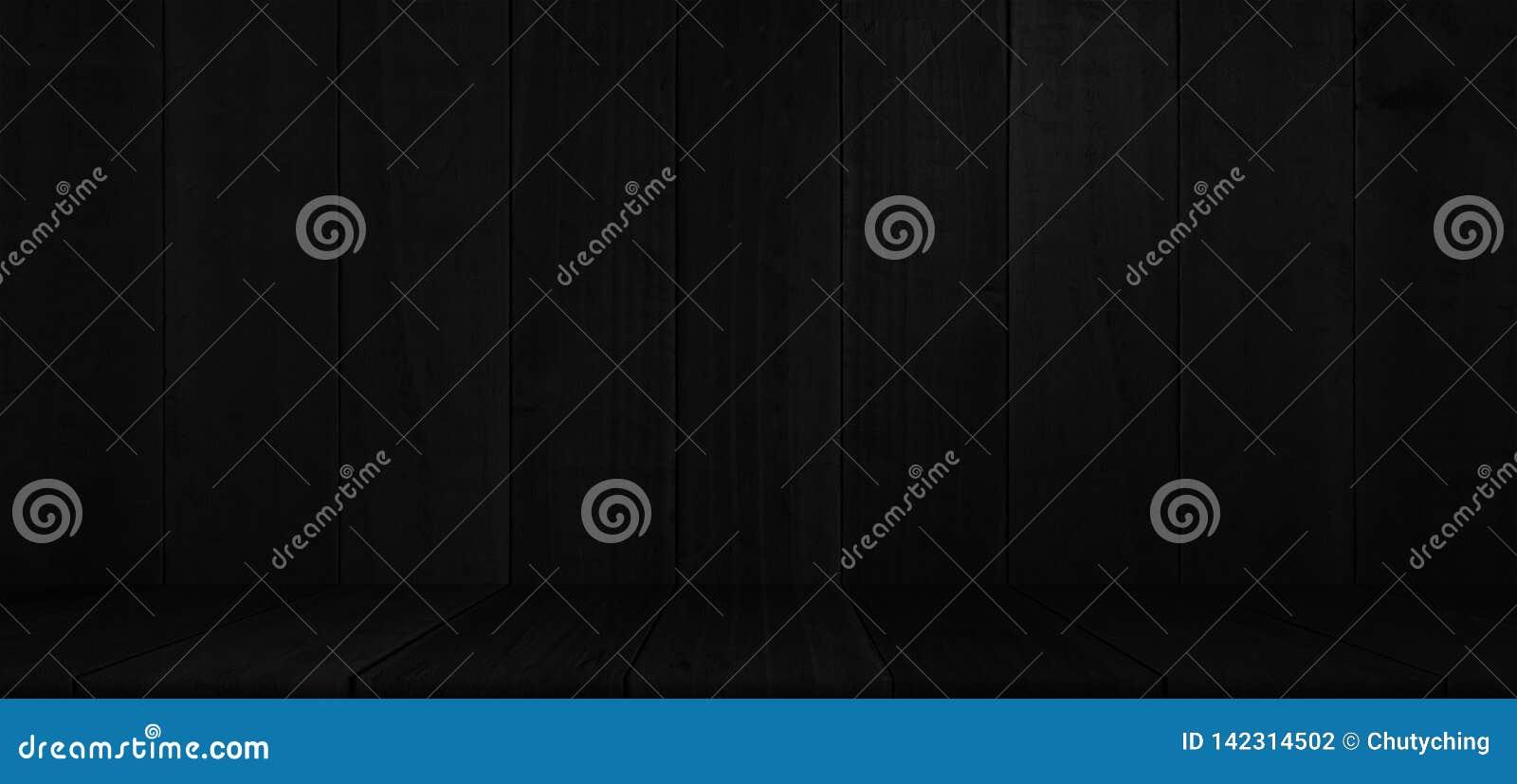 Lantlig svart träplankaproduktskärm