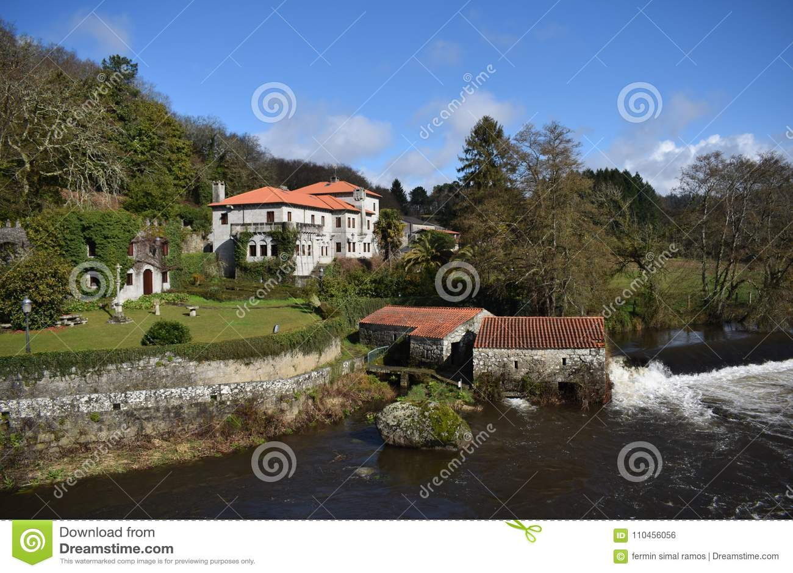 Lantlig turism i Galicia