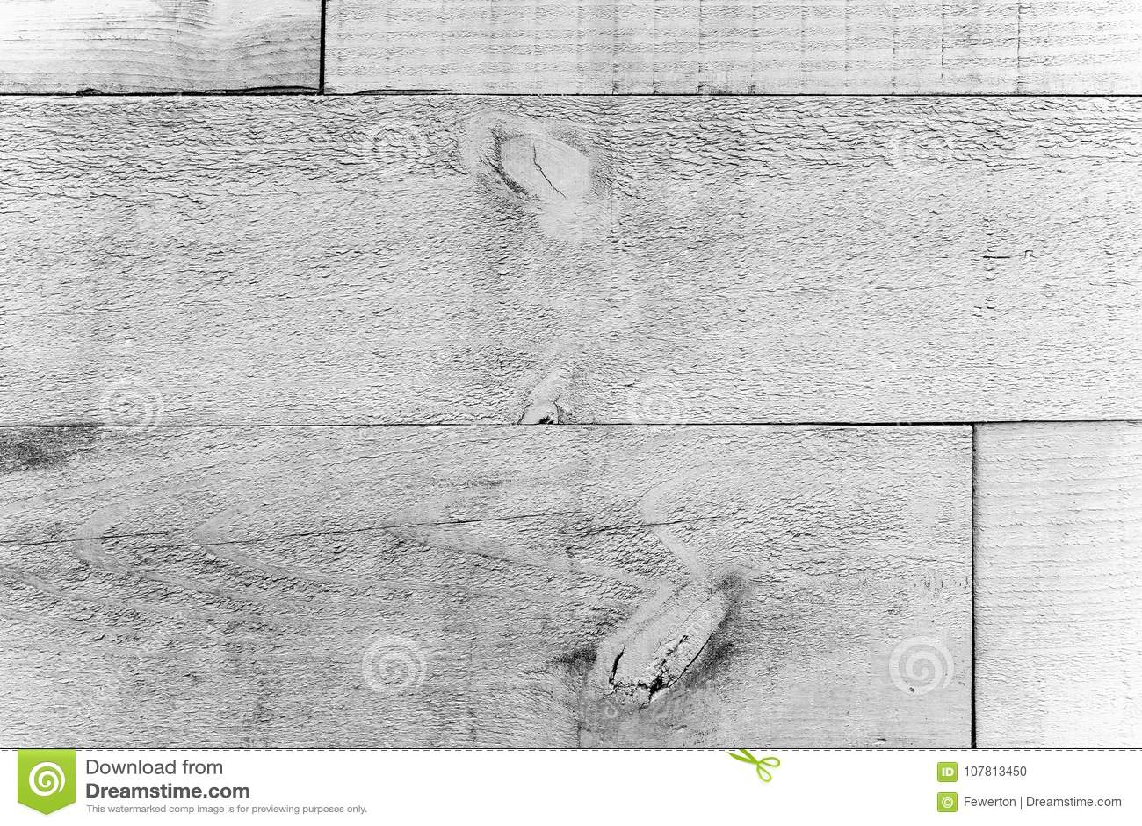 Lantliga gamla grungy och red ut träplankor för vit grå vägg som sömlös bakgrund för wood textur