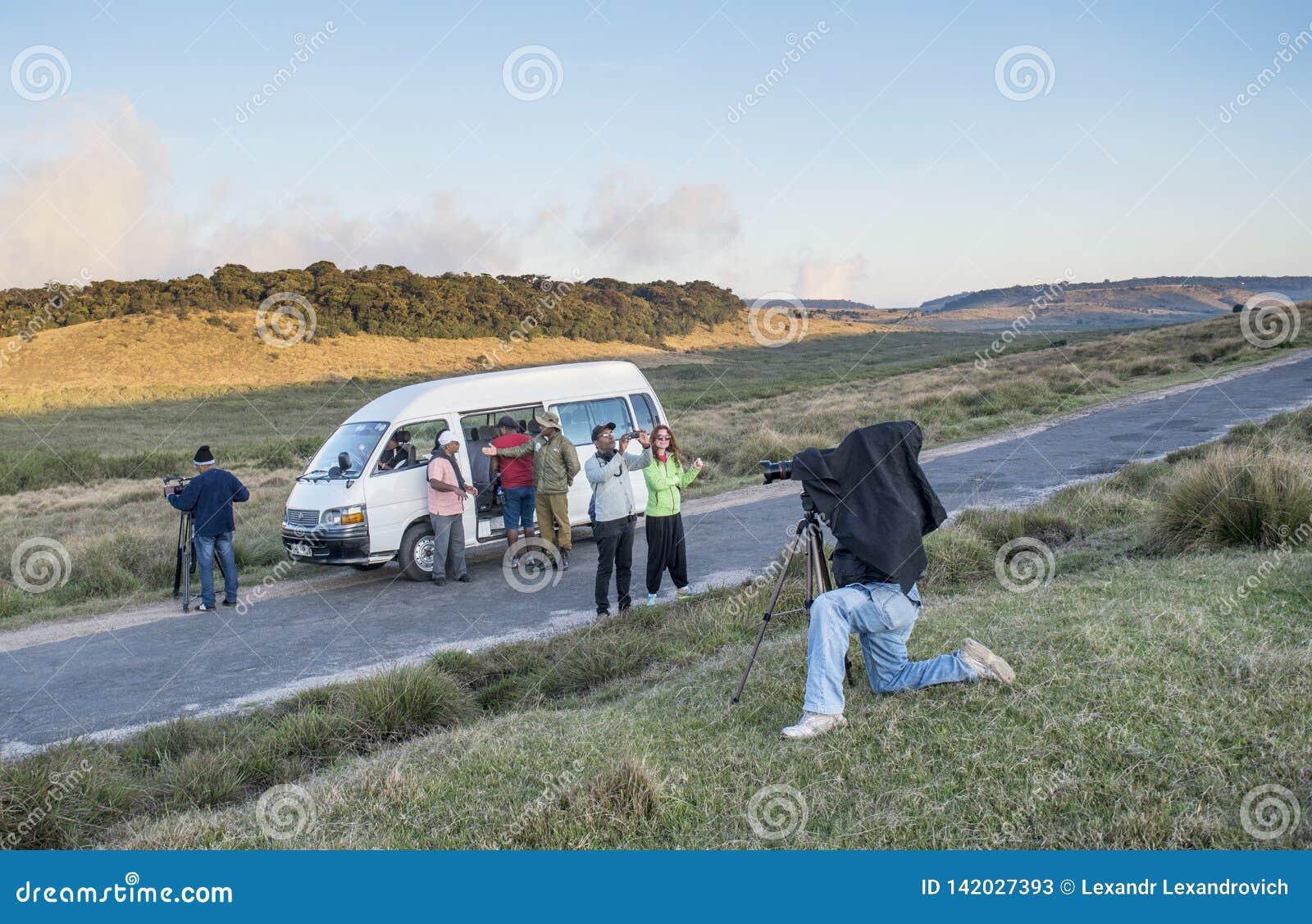 Lanzamiento de fabricación de servicio de los operadores video para el vídeo documental