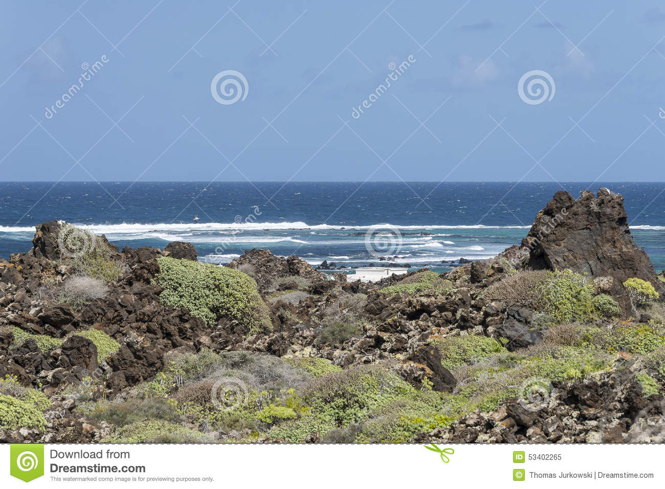 Lanzarote Landscapes Stock Image Image Of Beach