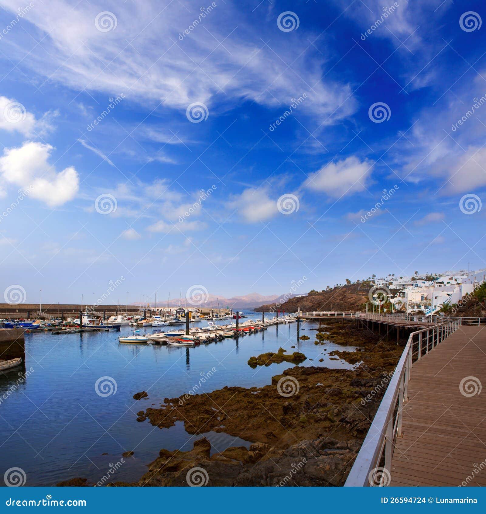 Lanzarote puerto del carmen port in canaries stock images image 26594724 - Port del carmen lanzarote ...