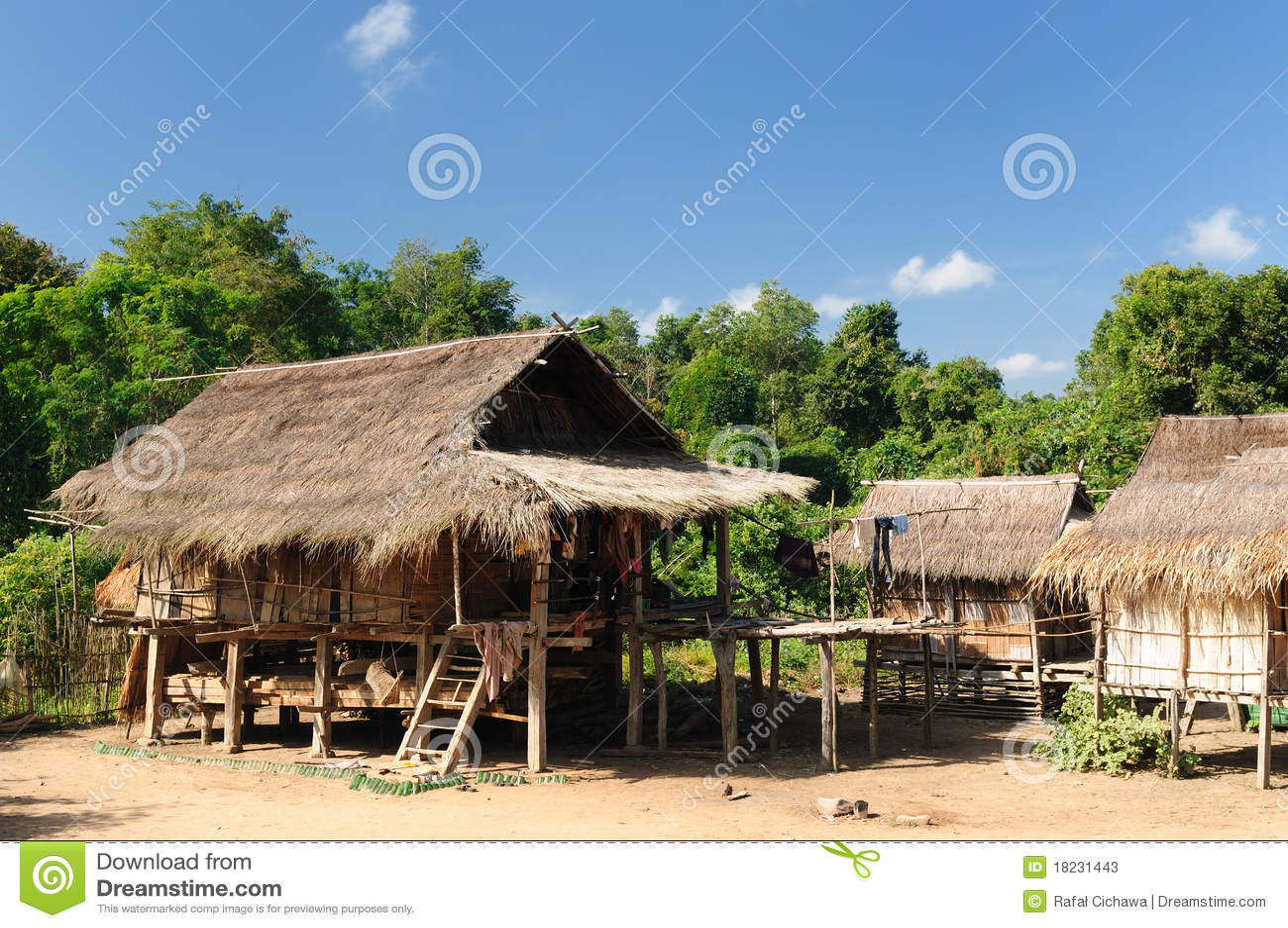 Lao, Muang zingt - landelijke scène