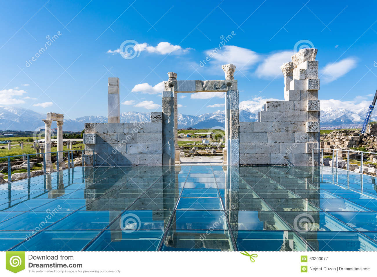 Laodikeia Ancient City, Denizli Stock Photo - Image: 63203077
