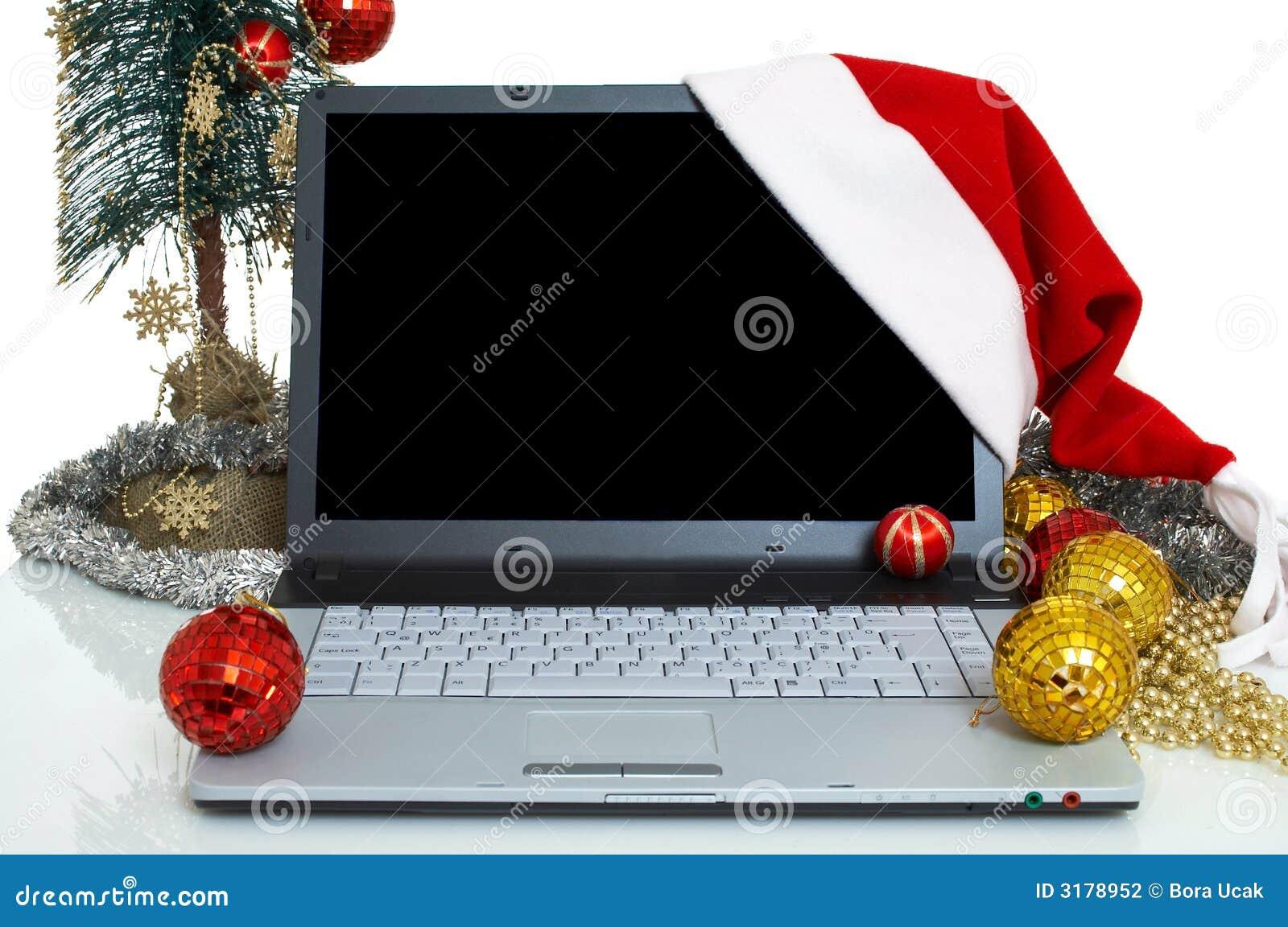 Lap-top Χριστουγέννων