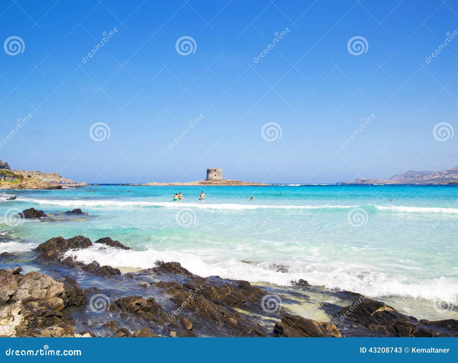 Download LaPelosa strand redaktionell arkivfoto. Bild av genomskinligt - 43208743