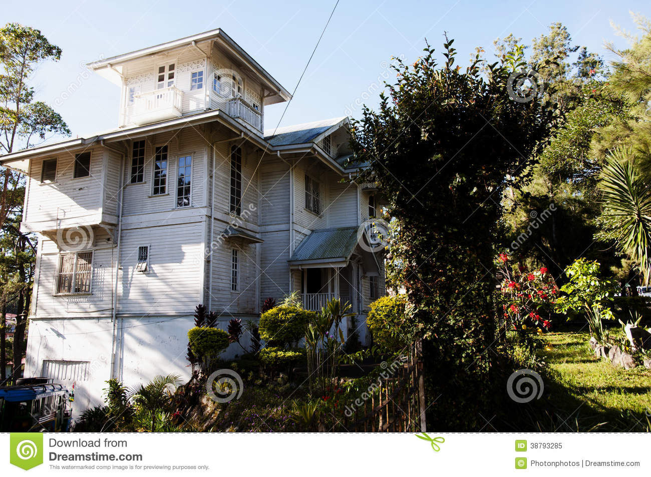 Laperal White House Philippines Stock Photo Image