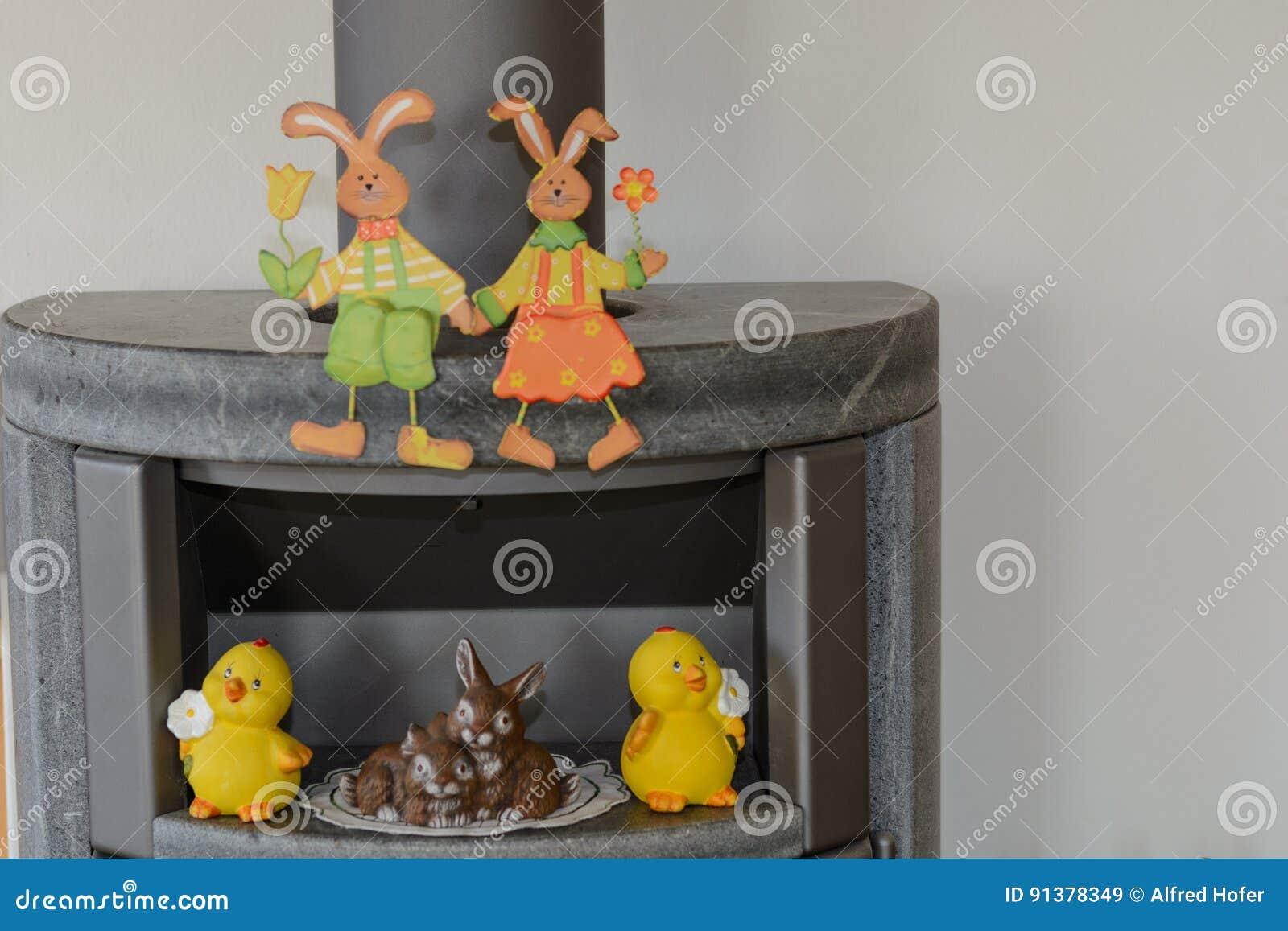 Lapin de Pâques en tant que décoration intérieure