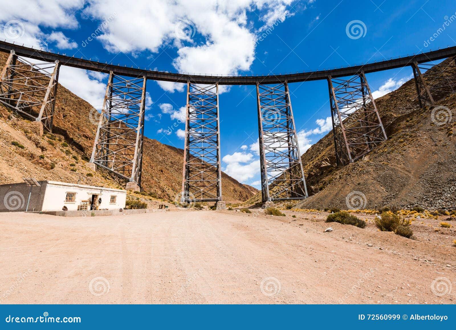 LaPolvorilla viadukt, Salta (Argentina)