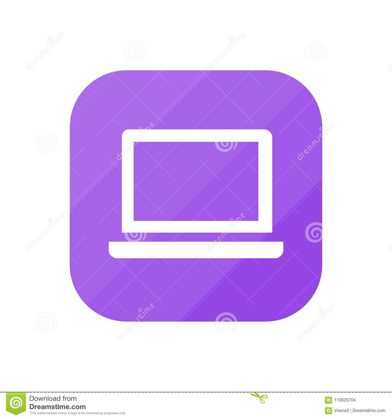 Laptop - App Pictogram