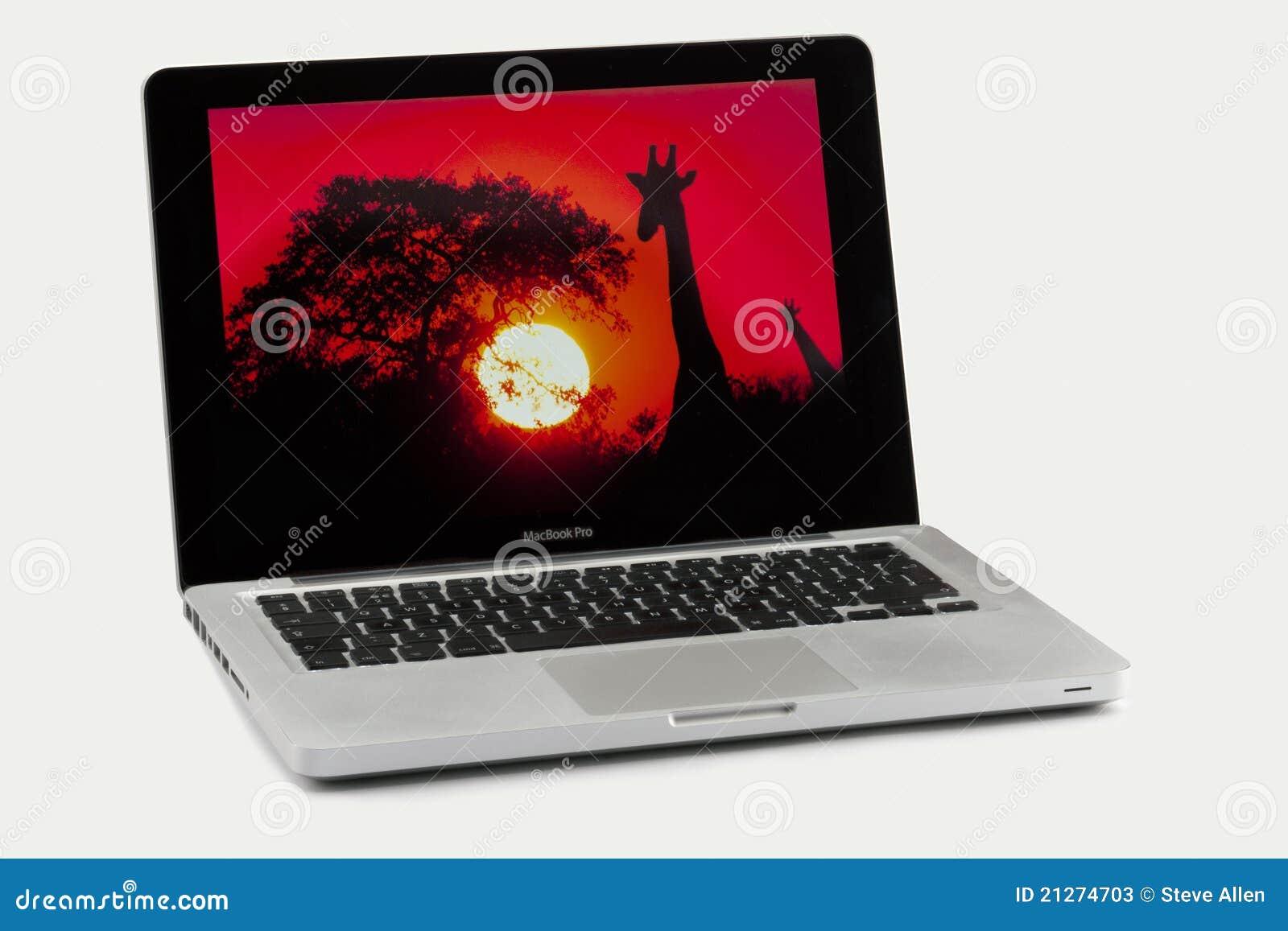Laptop Apple-MacBook Pro - getrennt