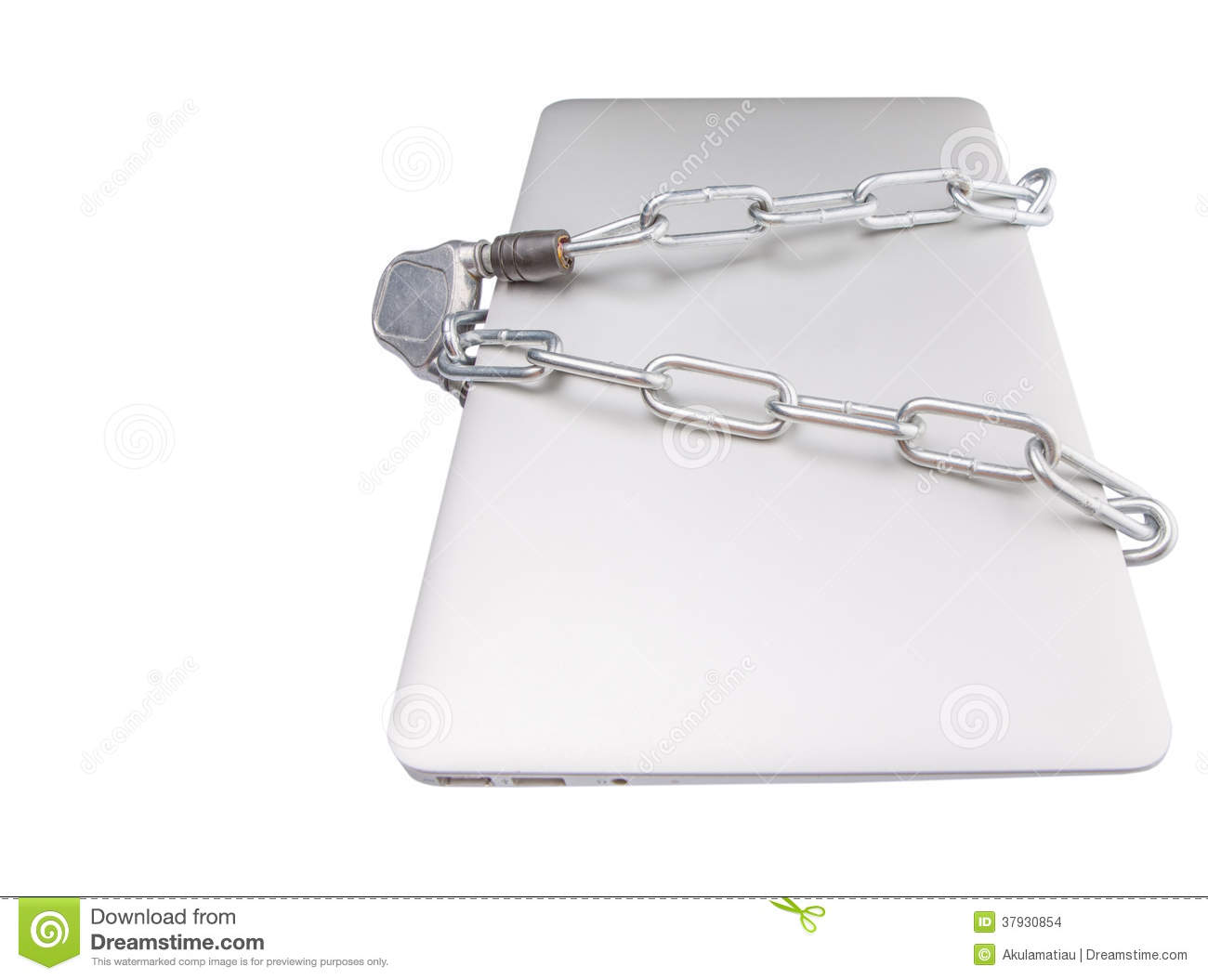Laptop and Chains III