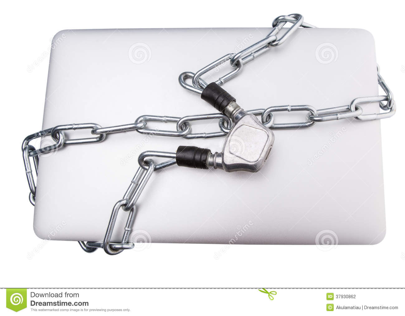 Laptop and Chains IV