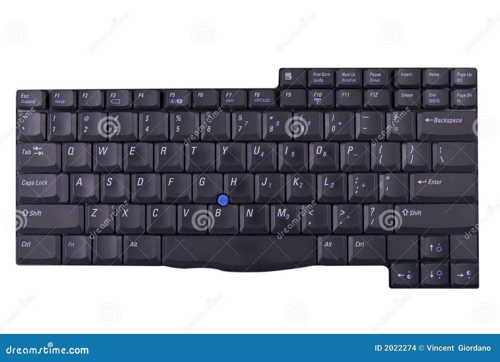 Laptop Computer Keypad Stock Images - Image: 2022274