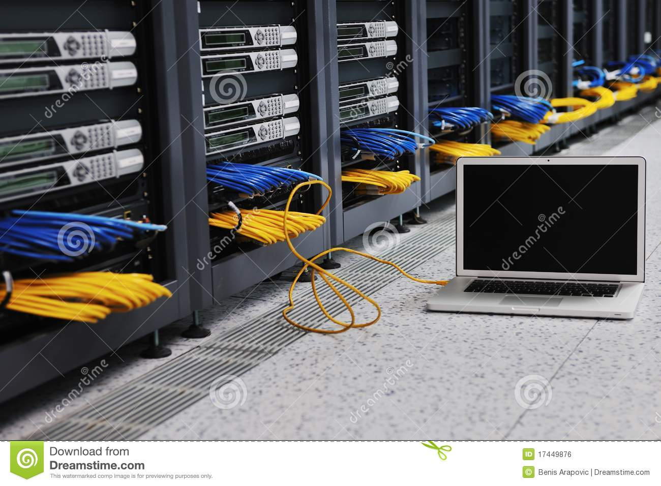 Computer Network Server Royalty Free Stock Photo - Image: 30142415