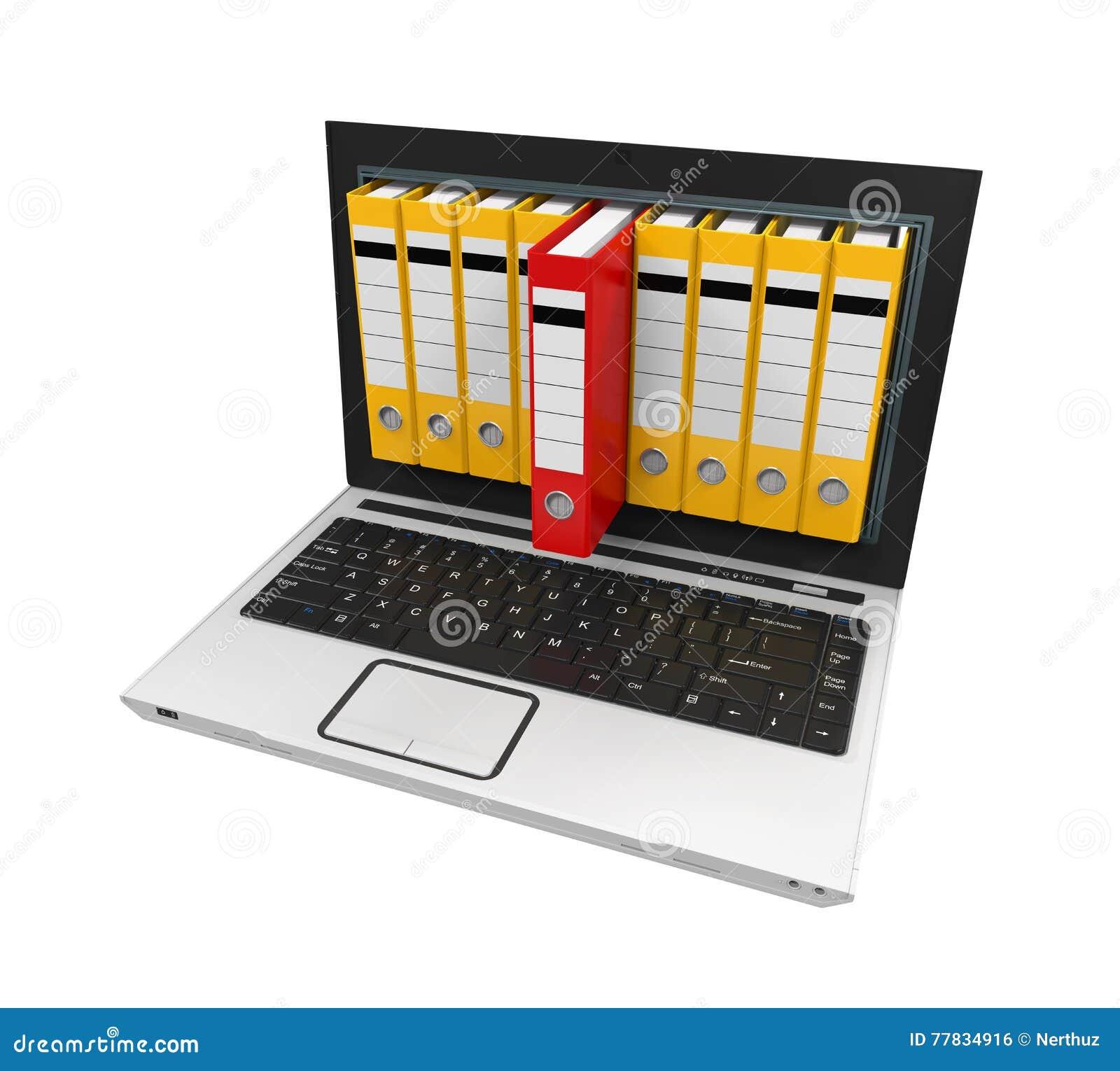 Laptop Data Storage