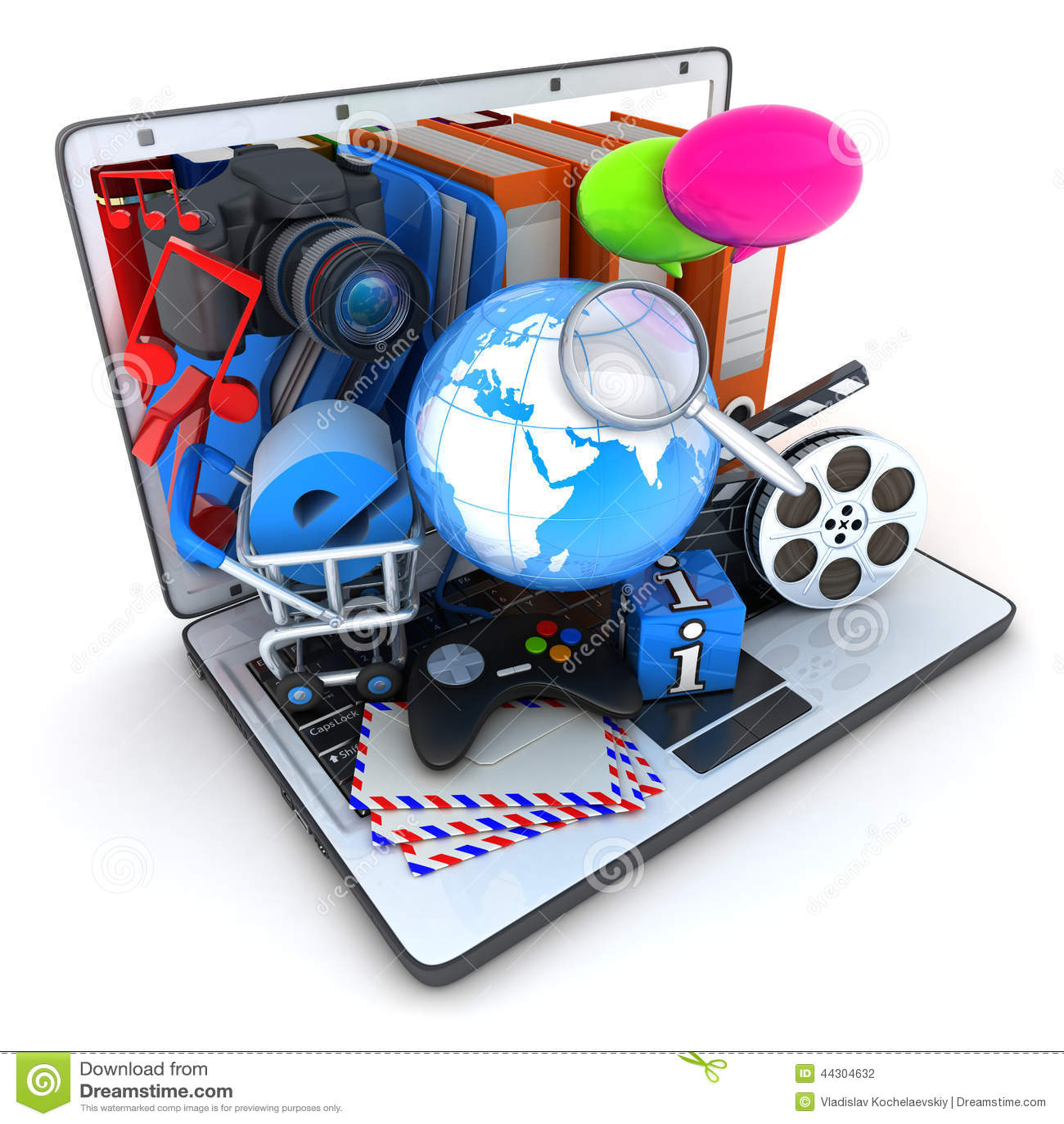 Laptop en multimedia