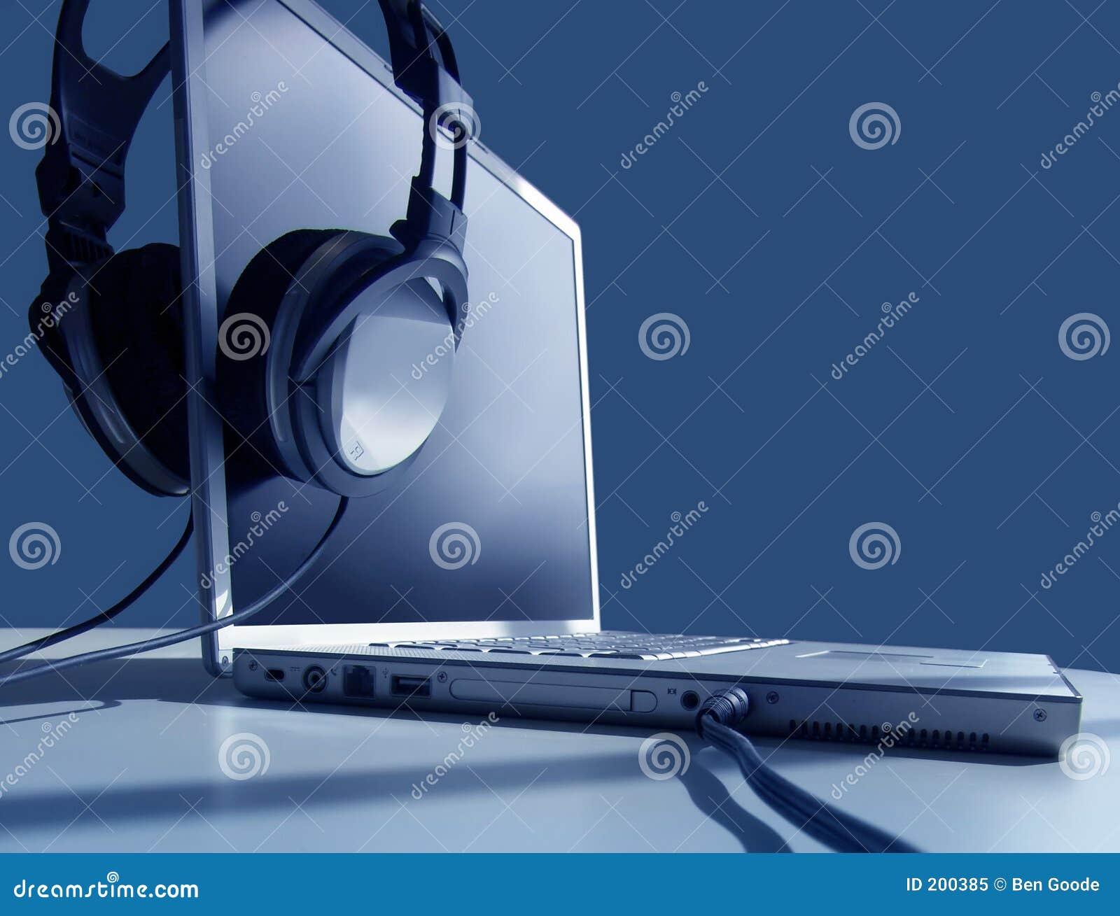 Laptop het Luisteren