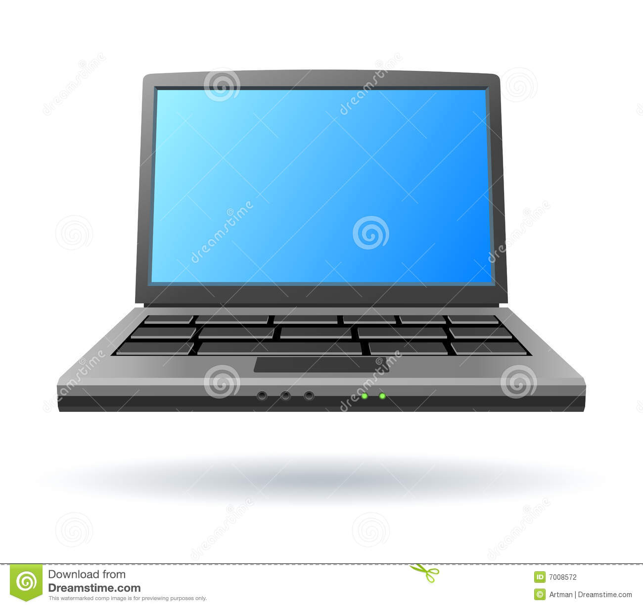 Laptop Icon Stock Photography - Image: 7008572