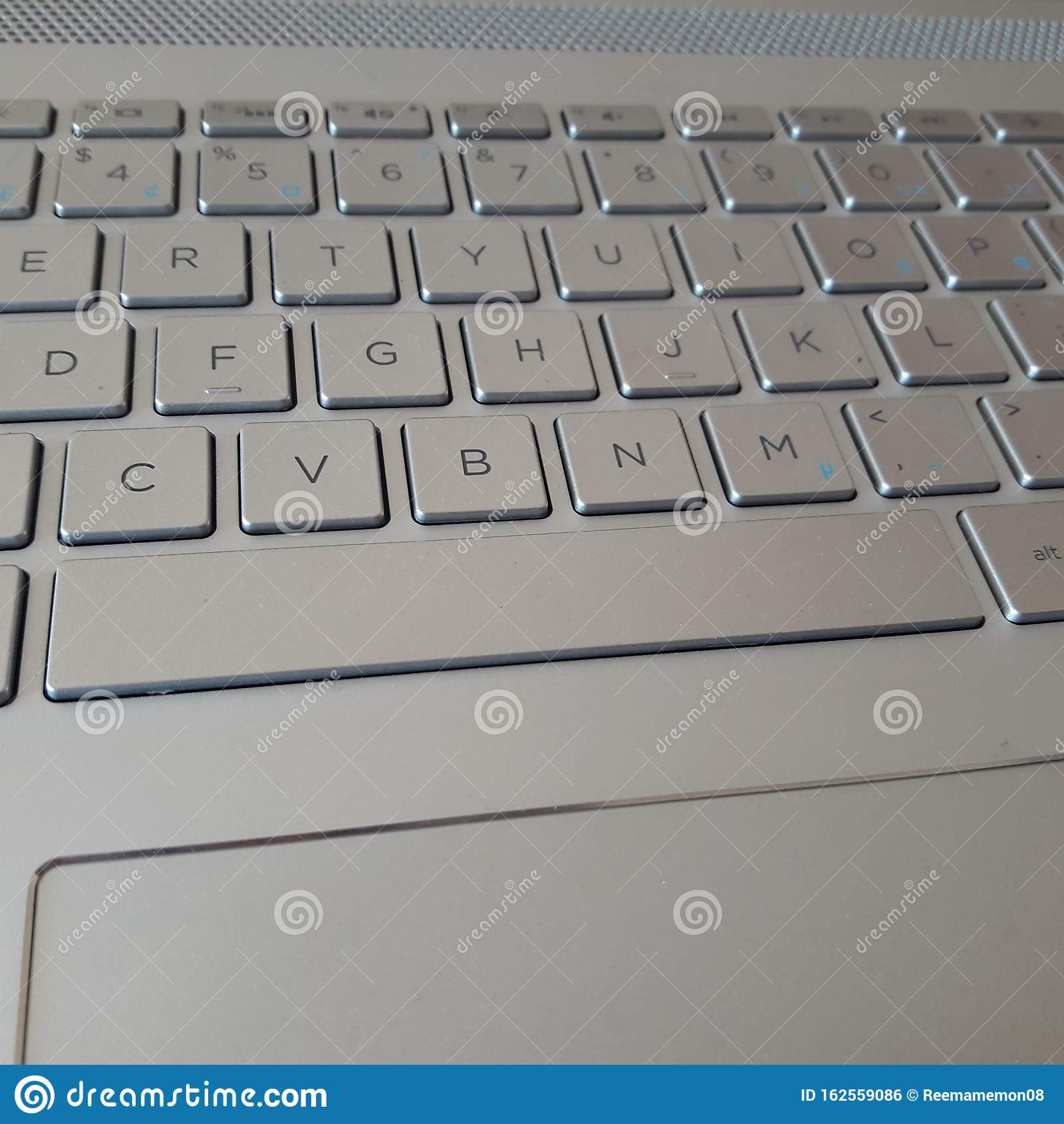 Laptop Keyboard Background Wallpaper Sliver Color Stock Photo Image Of Learn Teen 162559086