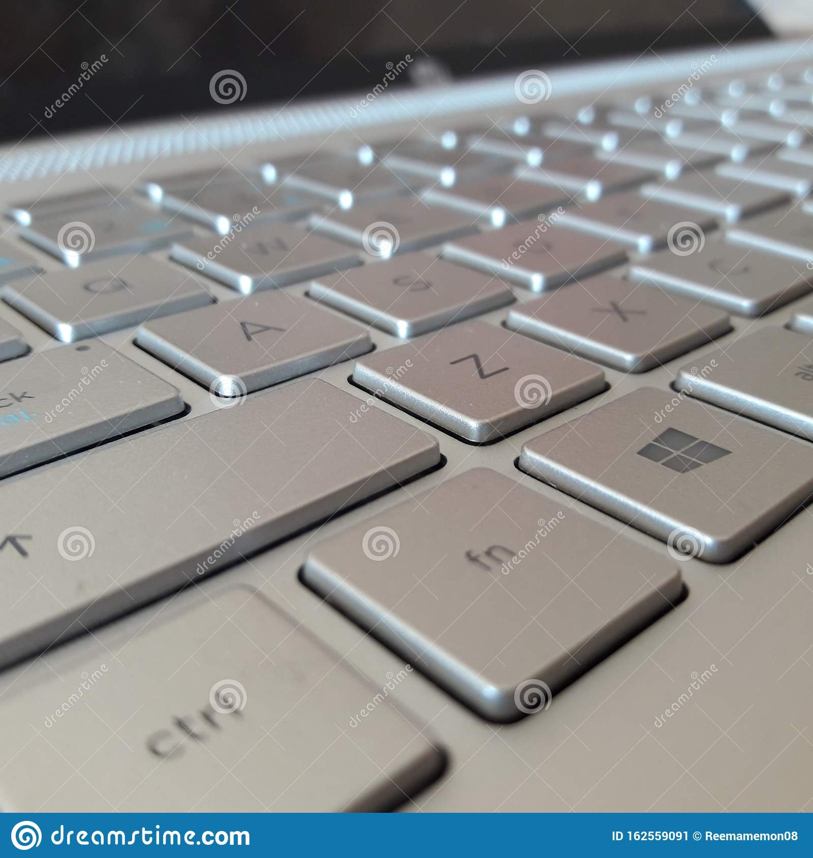 Laptop Keyboard Background Wallpaper Sliver Color Editorial Photo Image Of Cute Beautiful 162559091