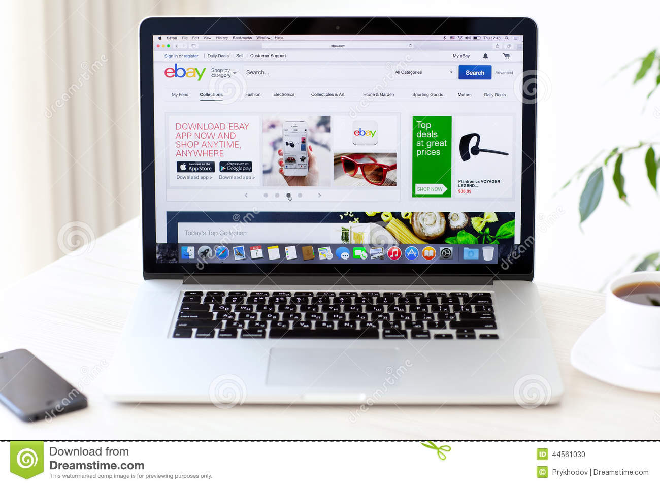 laptop macbook pro retina with site ebay on the screen is. Black Bedroom Furniture Sets. Home Design Ideas