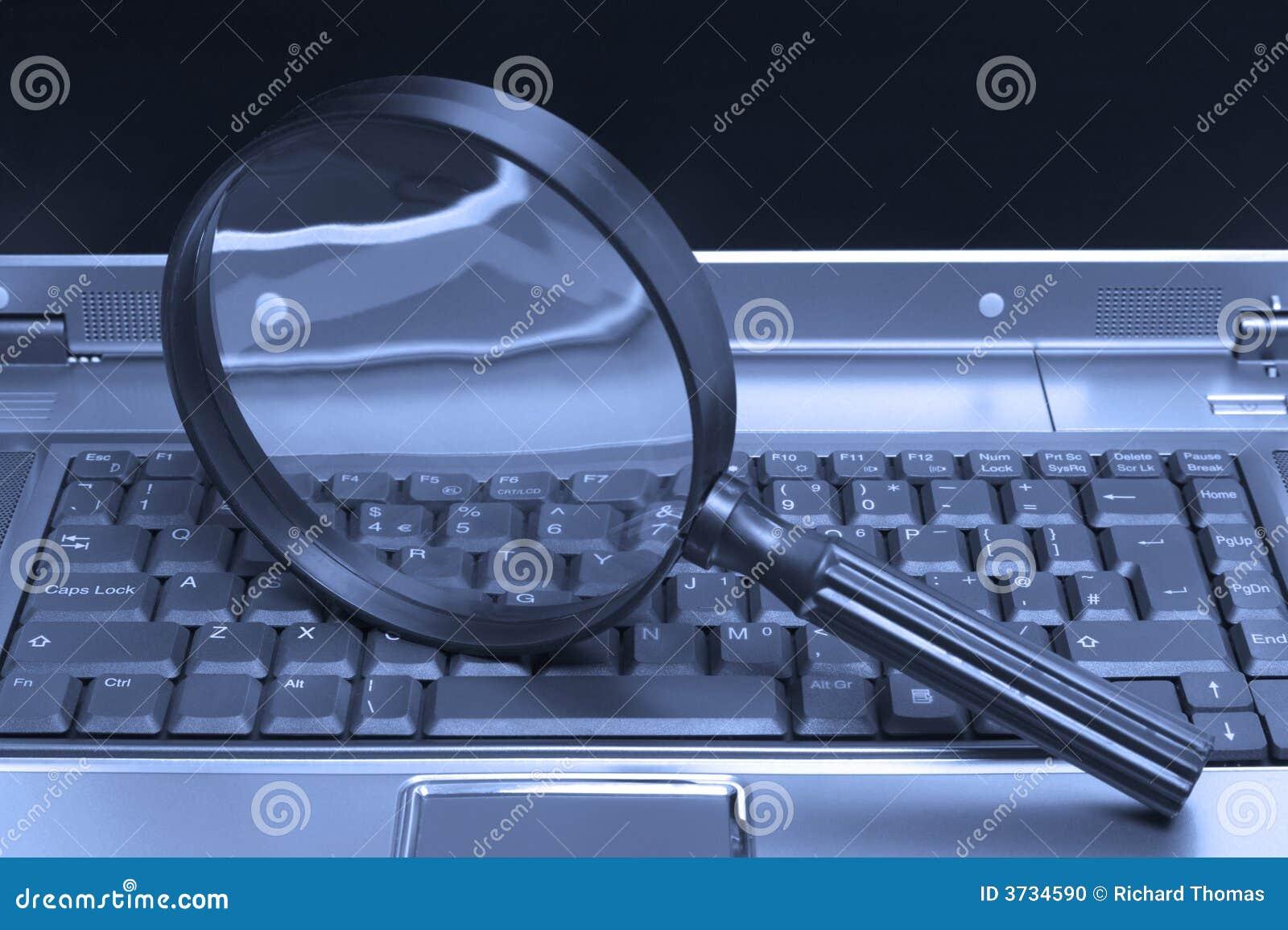Laptop Magnifying glass