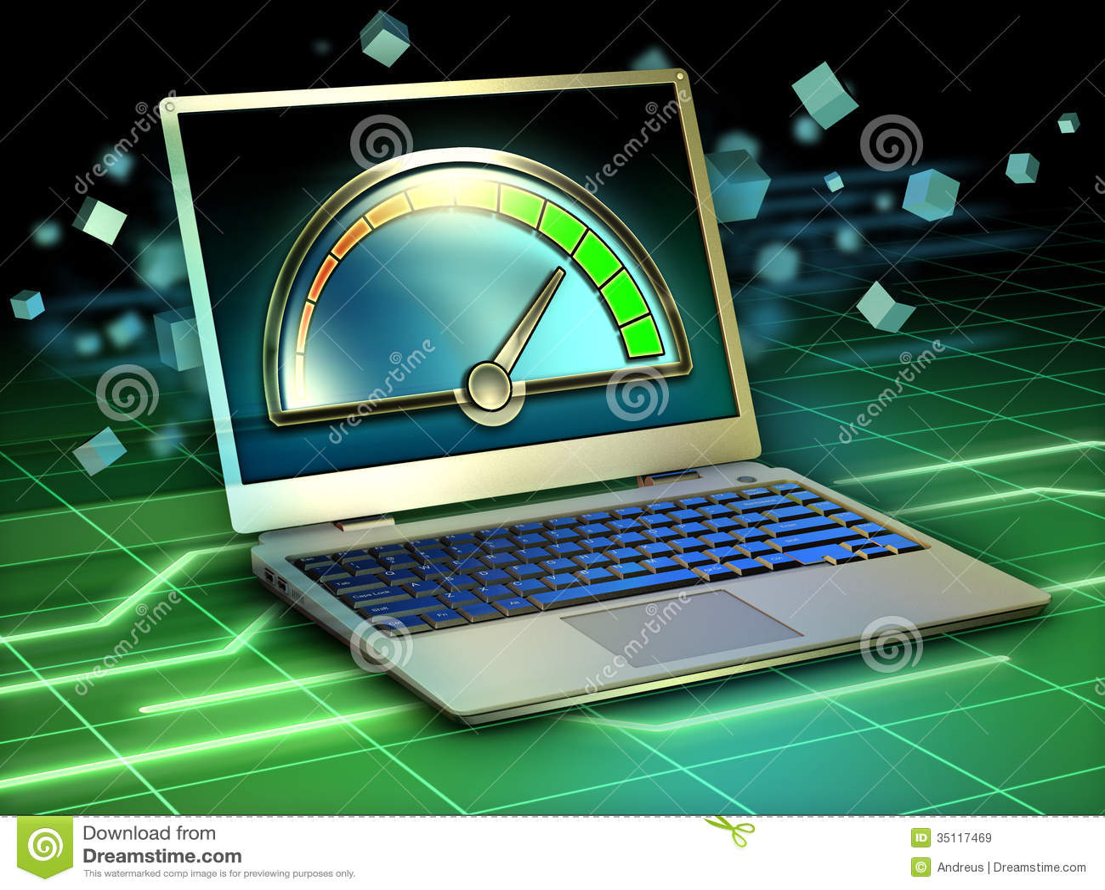Laptop Performance Royalty Free Stock Images Image 35117469
