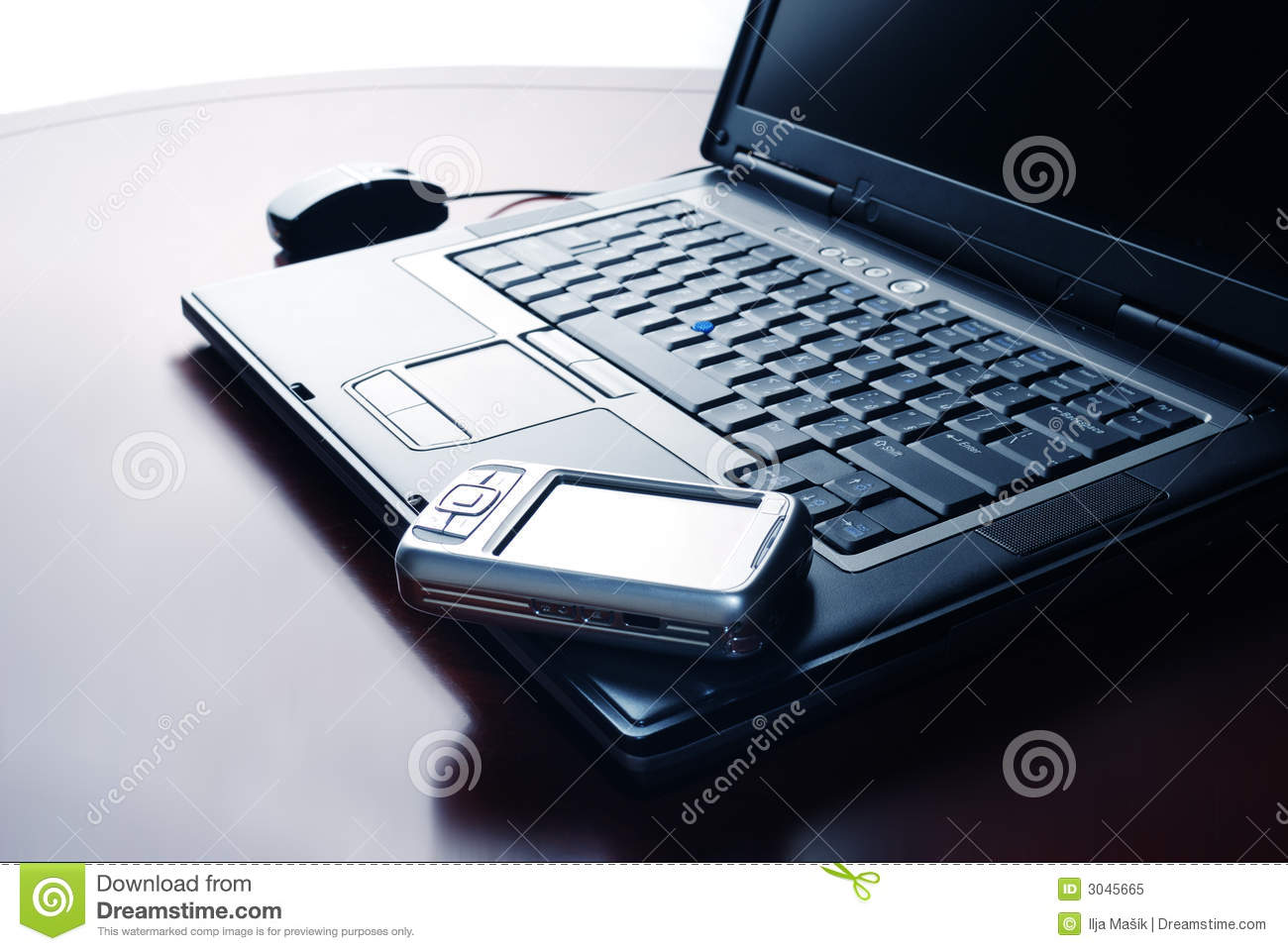 Laptop and Pocket PC